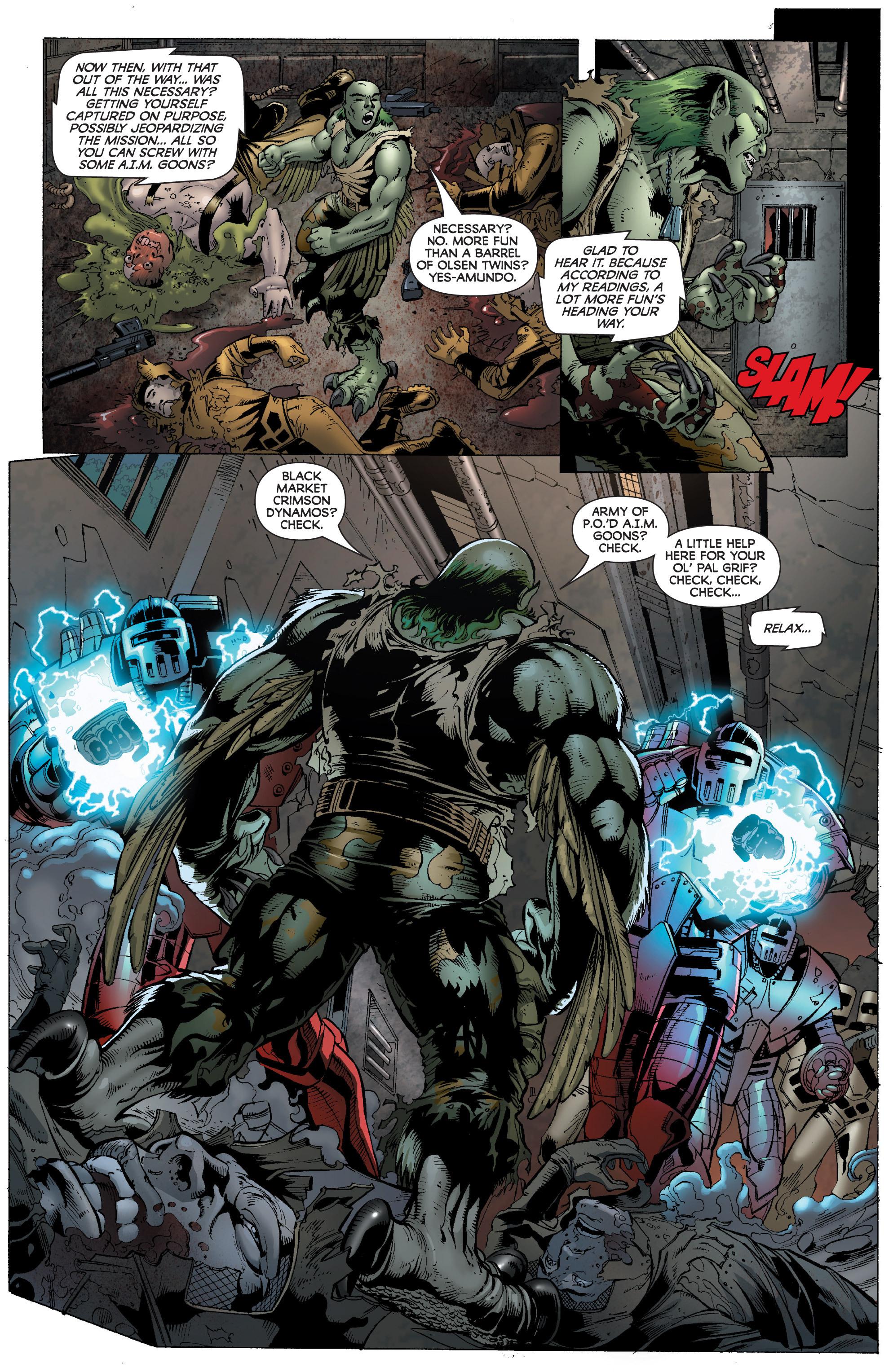 Read online World War Hulk: Gamma Corps comic -  Issue #1 - 18
