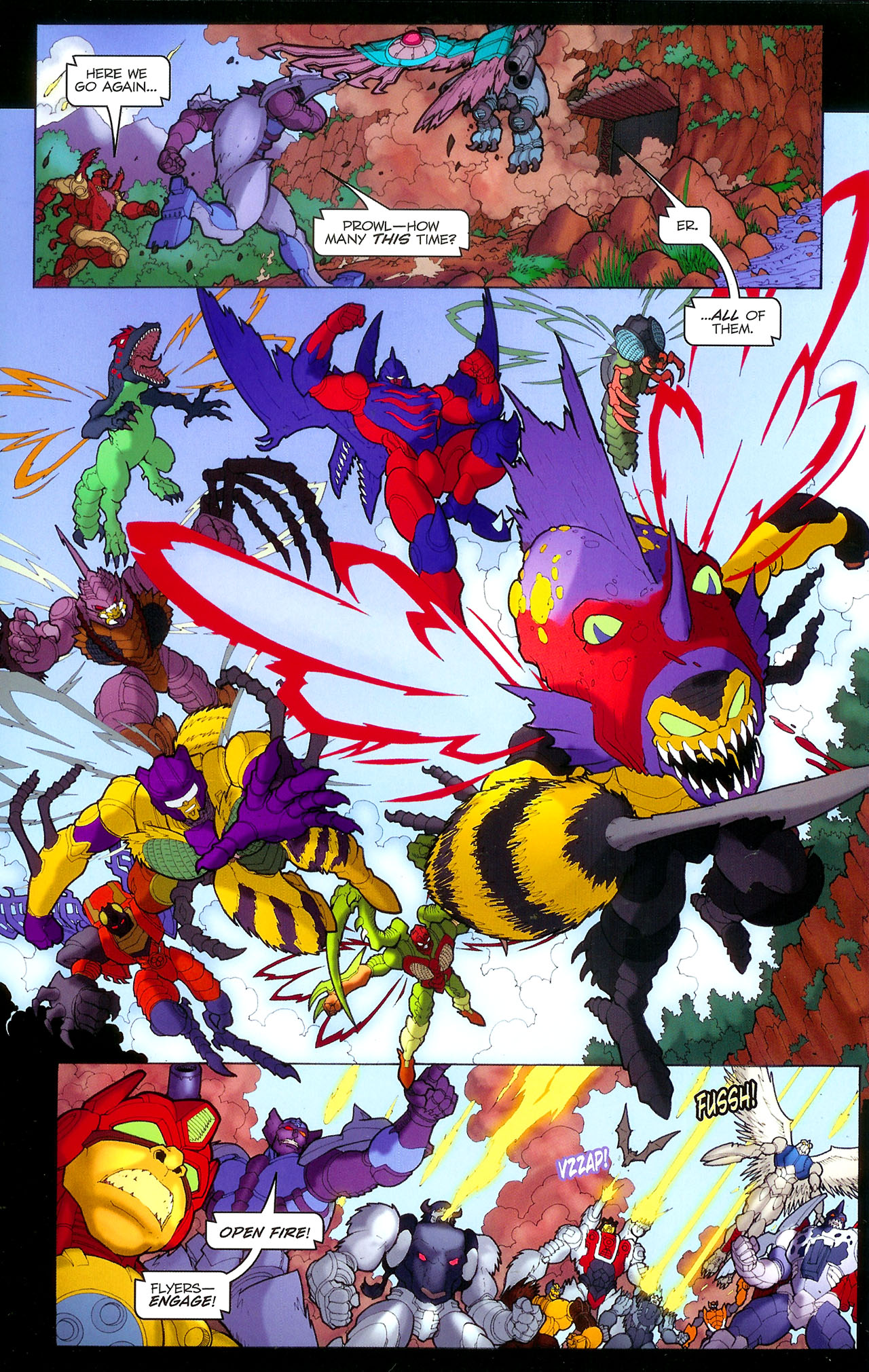 Read online Transformers: Beast Wars: The Ascending comic -  Issue #1 - 11