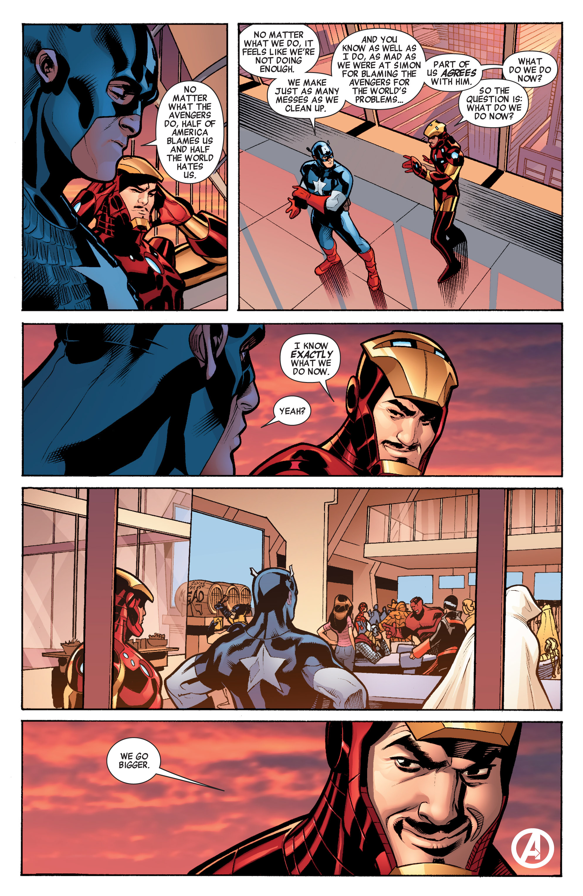 Read online Avengers (2010) comic -  Issue #34 - 30