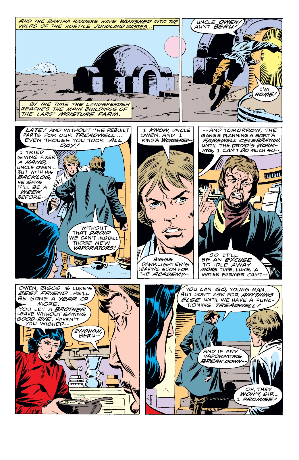 Read online Star Wars Legends: The Original Marvel Years - Epic Collection comic -  Issue # TPB 1 (Part 4) - 1