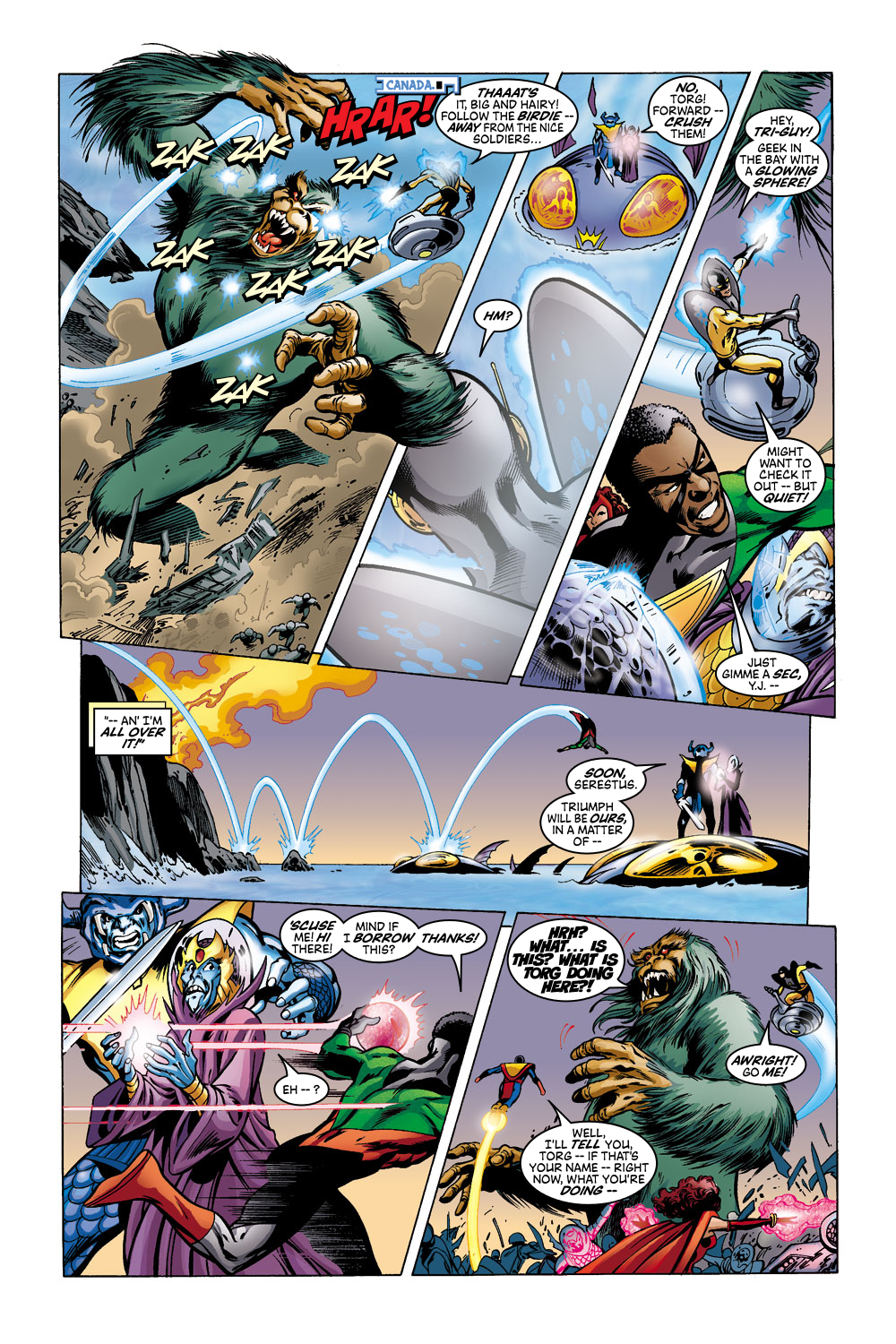 Read online Avengers (1998) comic -  Issue #43 - 14