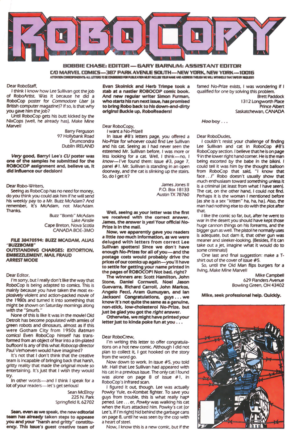 Read online Robocop (1990) comic -  Issue #11 - 24