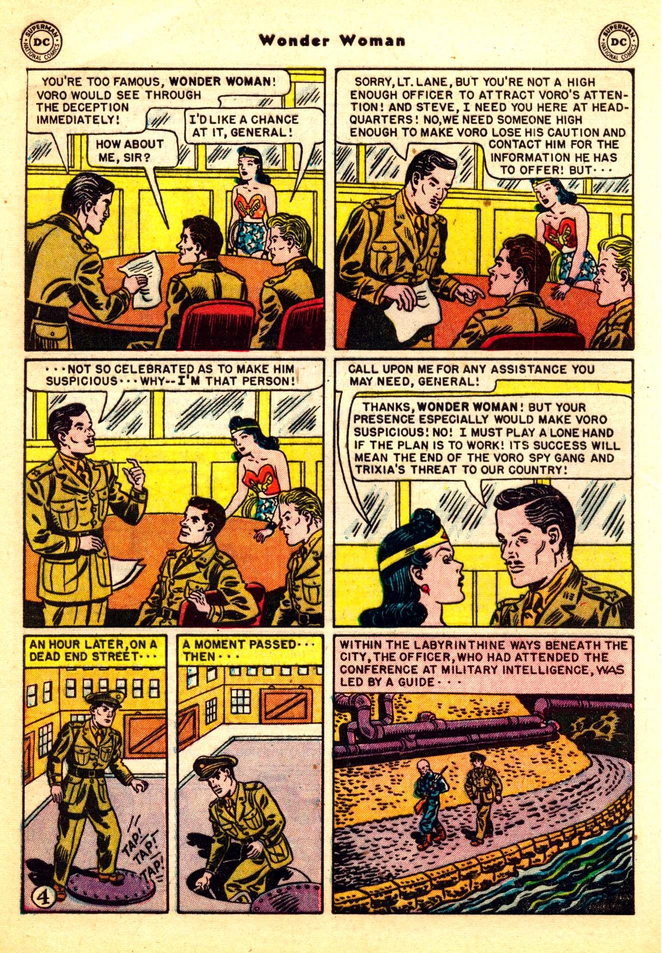Read online Wonder Woman (1942) comic -  Issue #50 - 6
