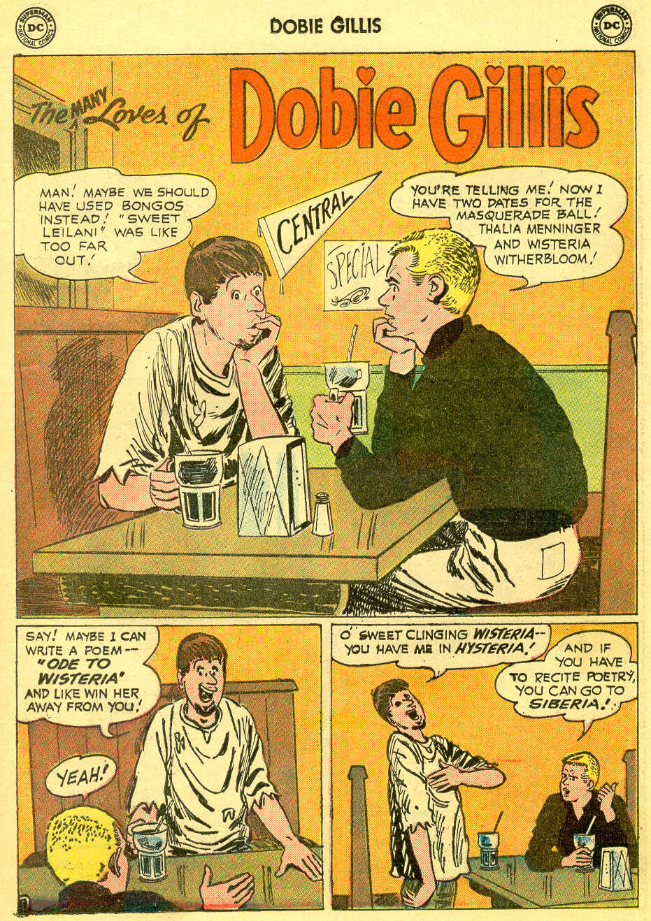 Many Loves of Dobie Gillis issue 4 - Page 13