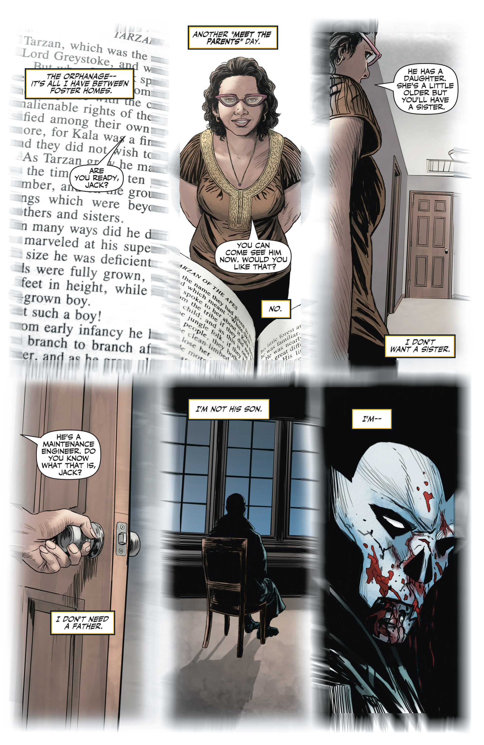 Read online Shadowman (2012) comic -  Issue #2 - 13