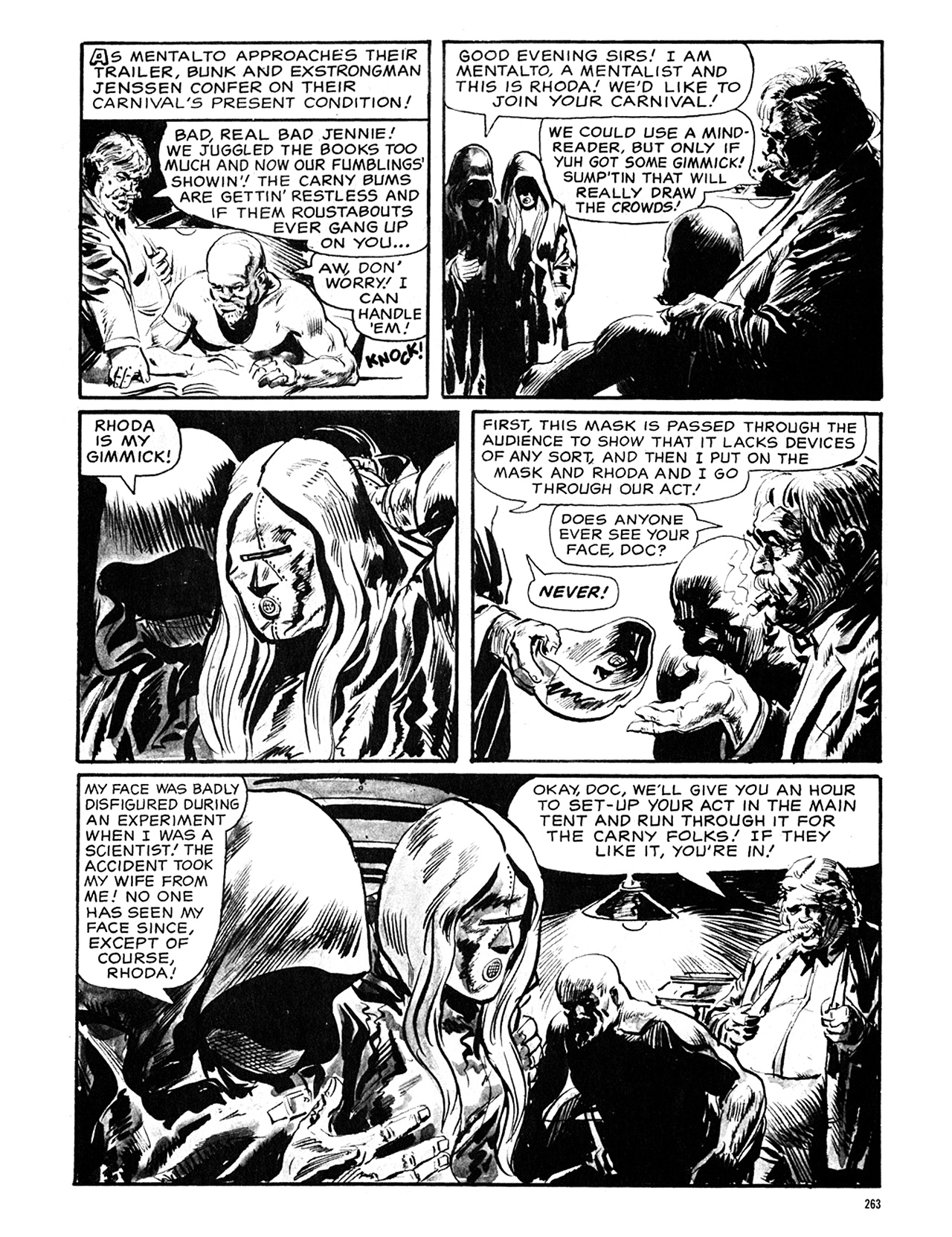 Read online Eerie Archives comic -  Issue # TPB 5 - 264