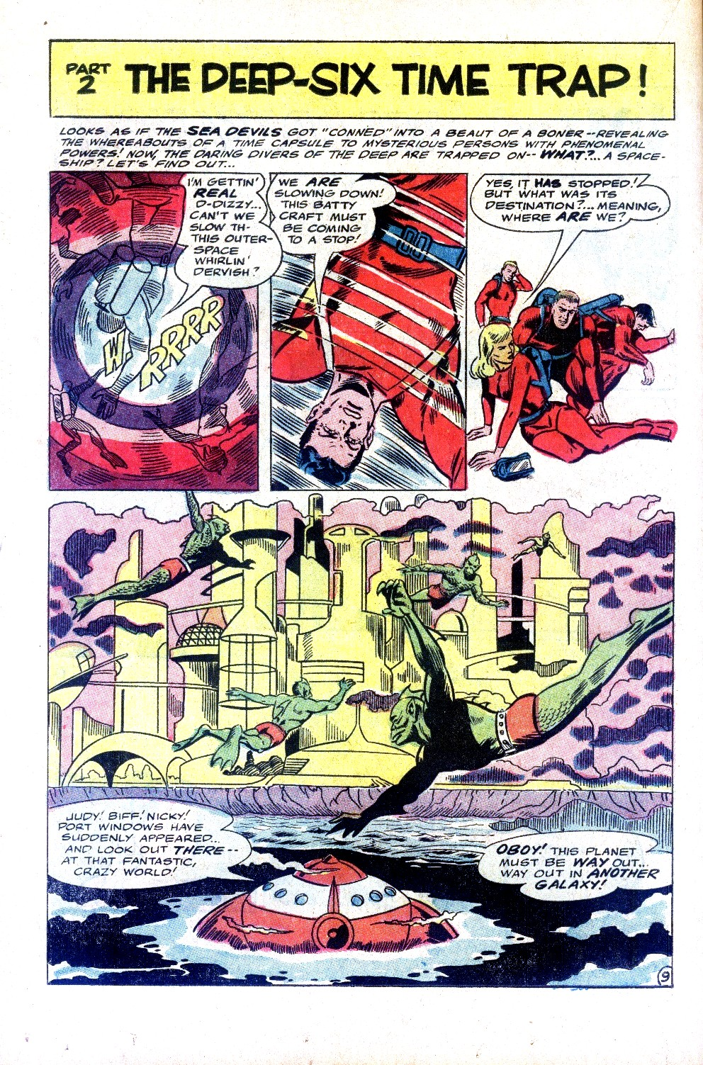 Read online Sea Devils comic -  Issue #32 - 15