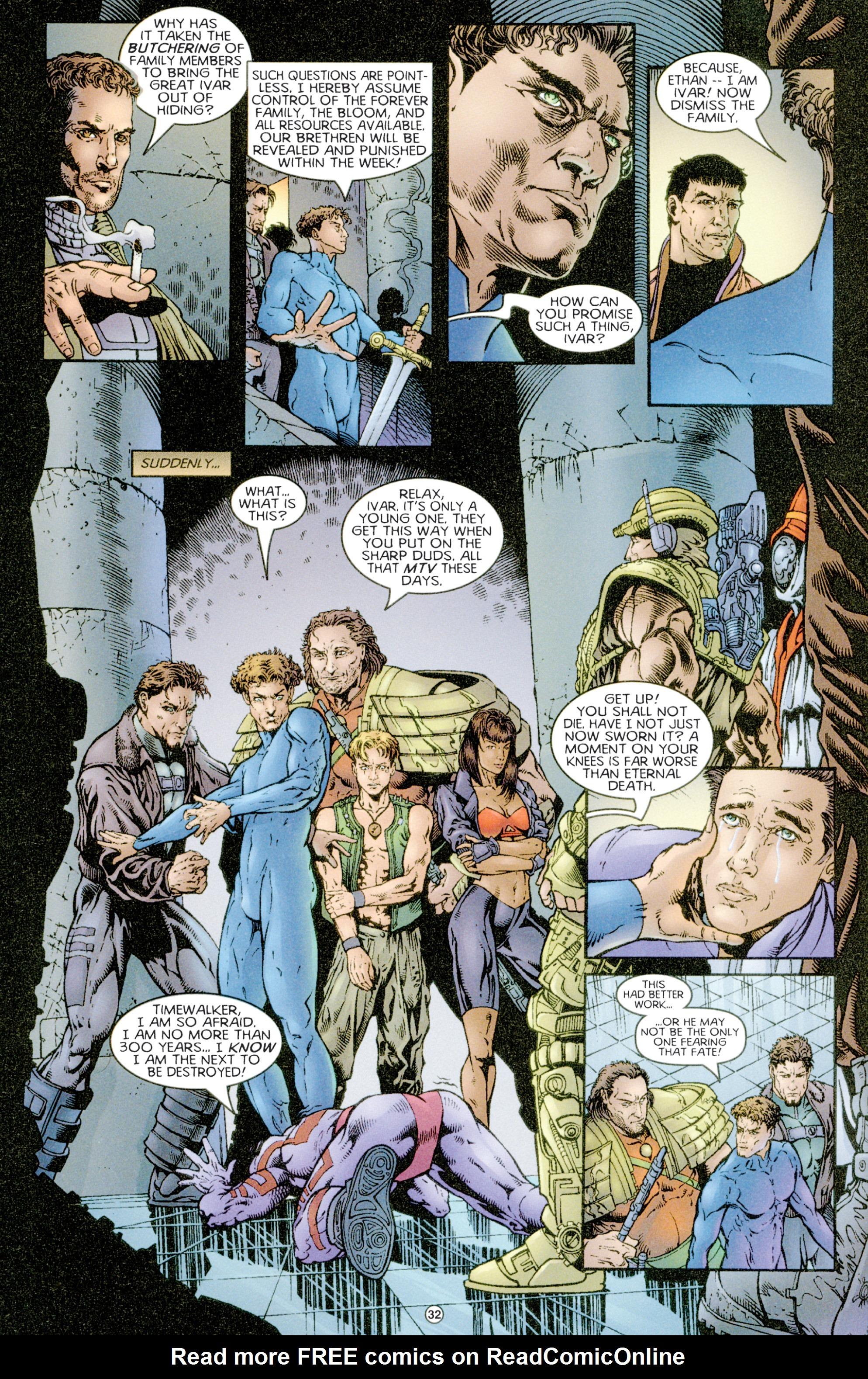 Read online Eternal Warriors comic -  Issue # Issue Time & Treachery - 31