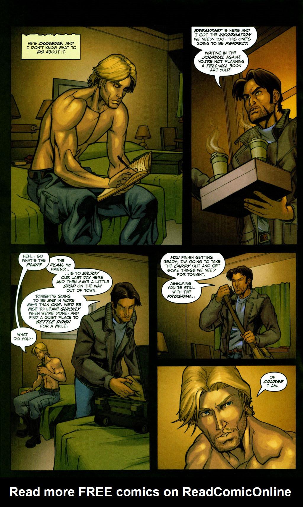 Read online Snake Eyes: Declassified comic -  Issue #2 - 15