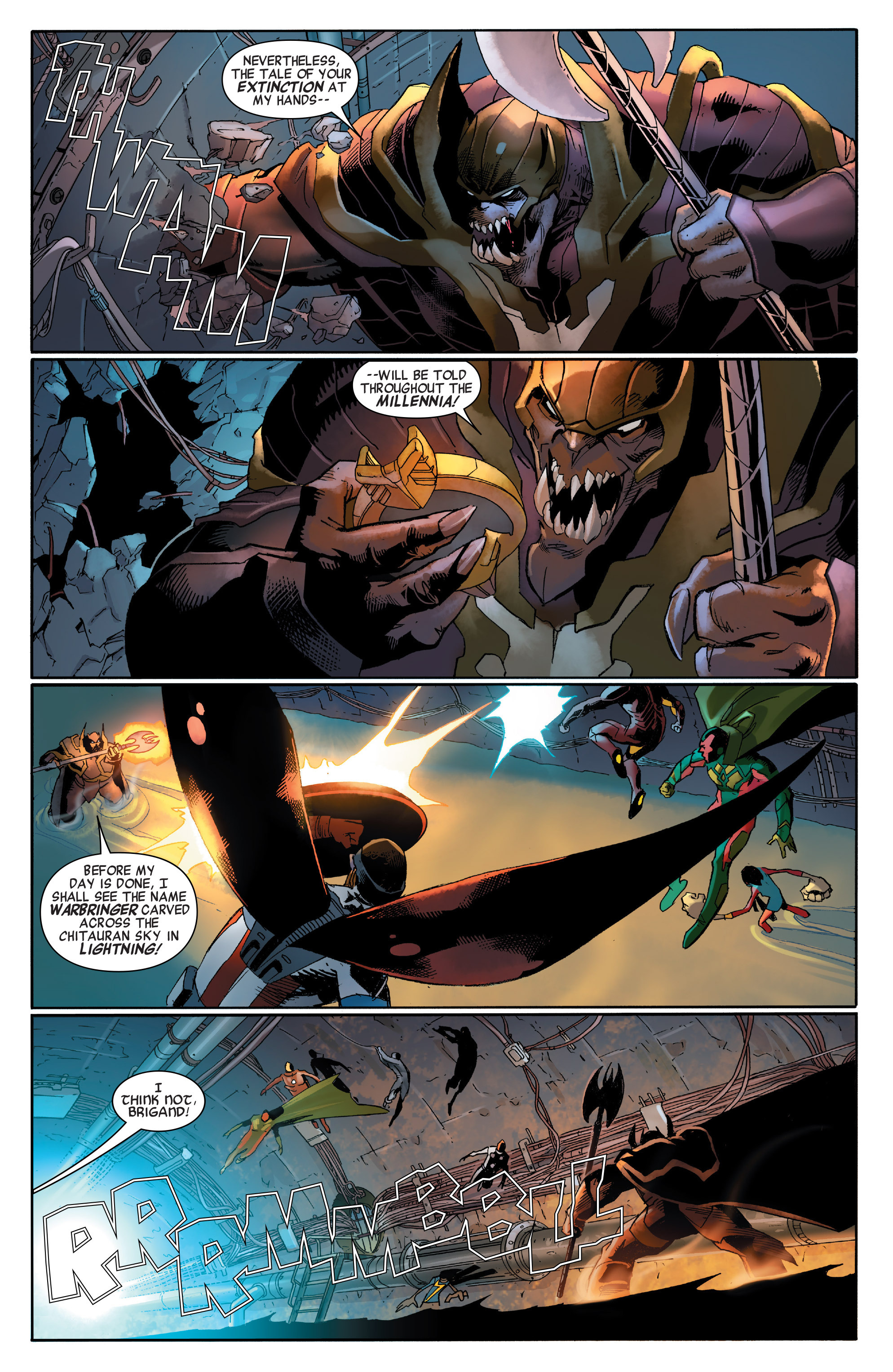 Read online All-New, All-Different Avengers comic -  Issue #2 - 17