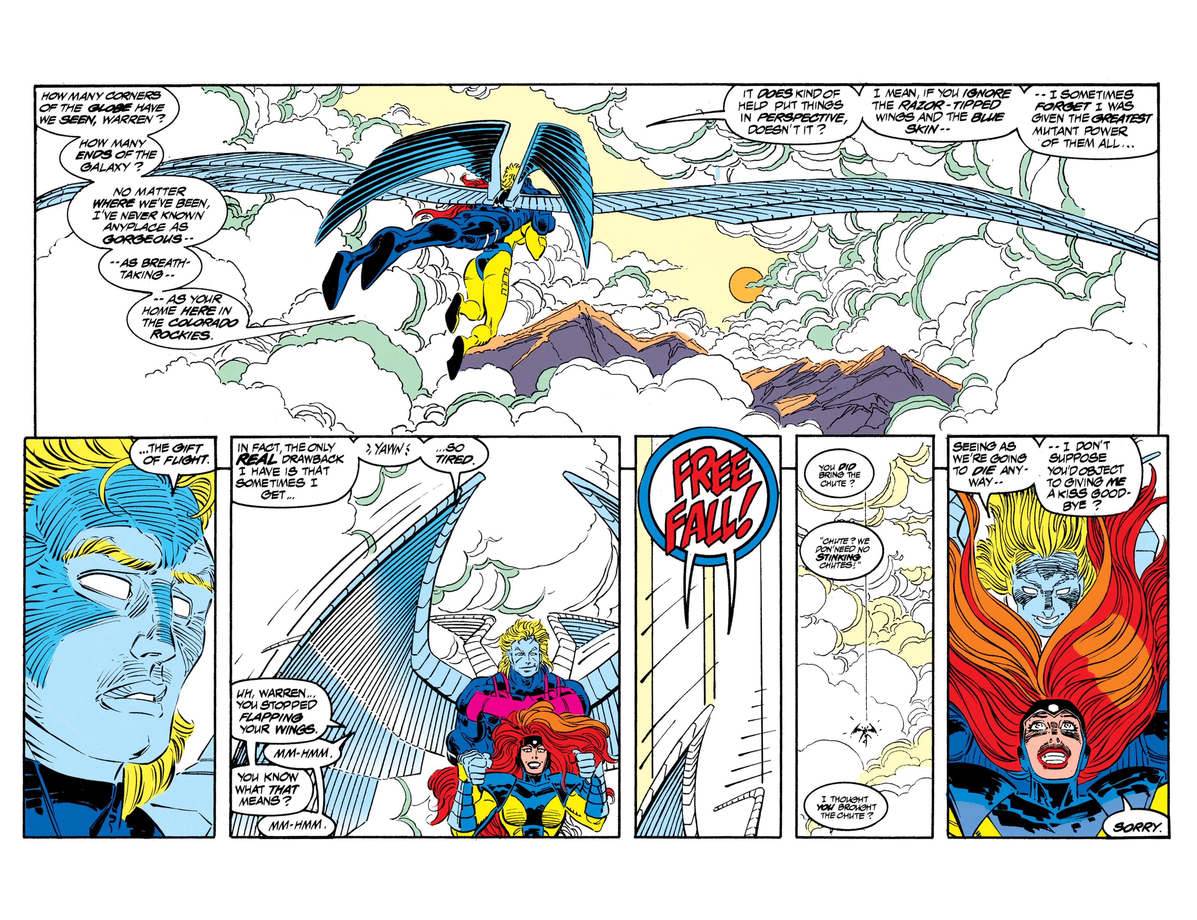 Read online Uncanny X-Men (1963) comic -  Issue #306 - 3