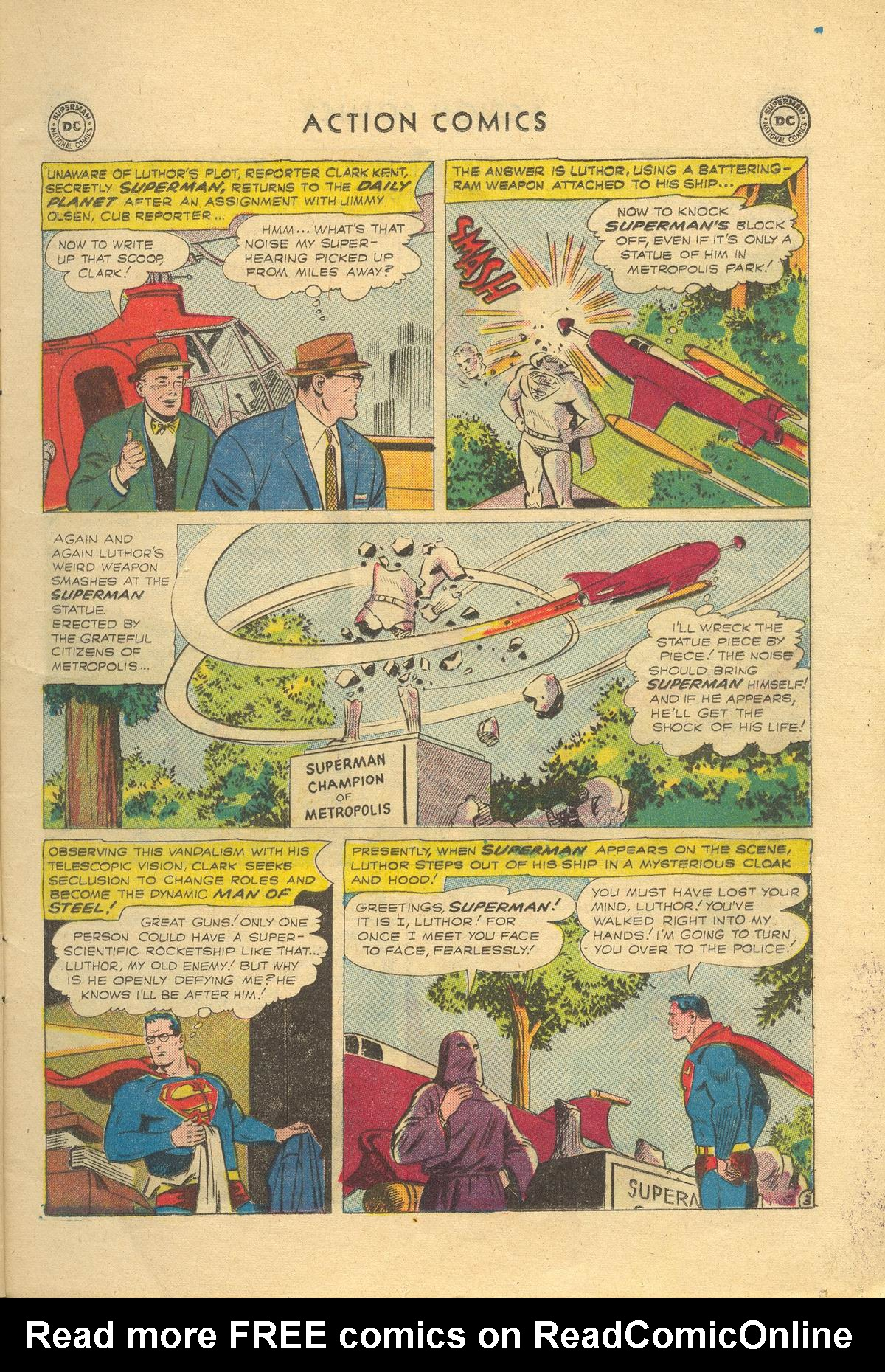 Read online Action Comics (1938) comic -  Issue #249 - 5