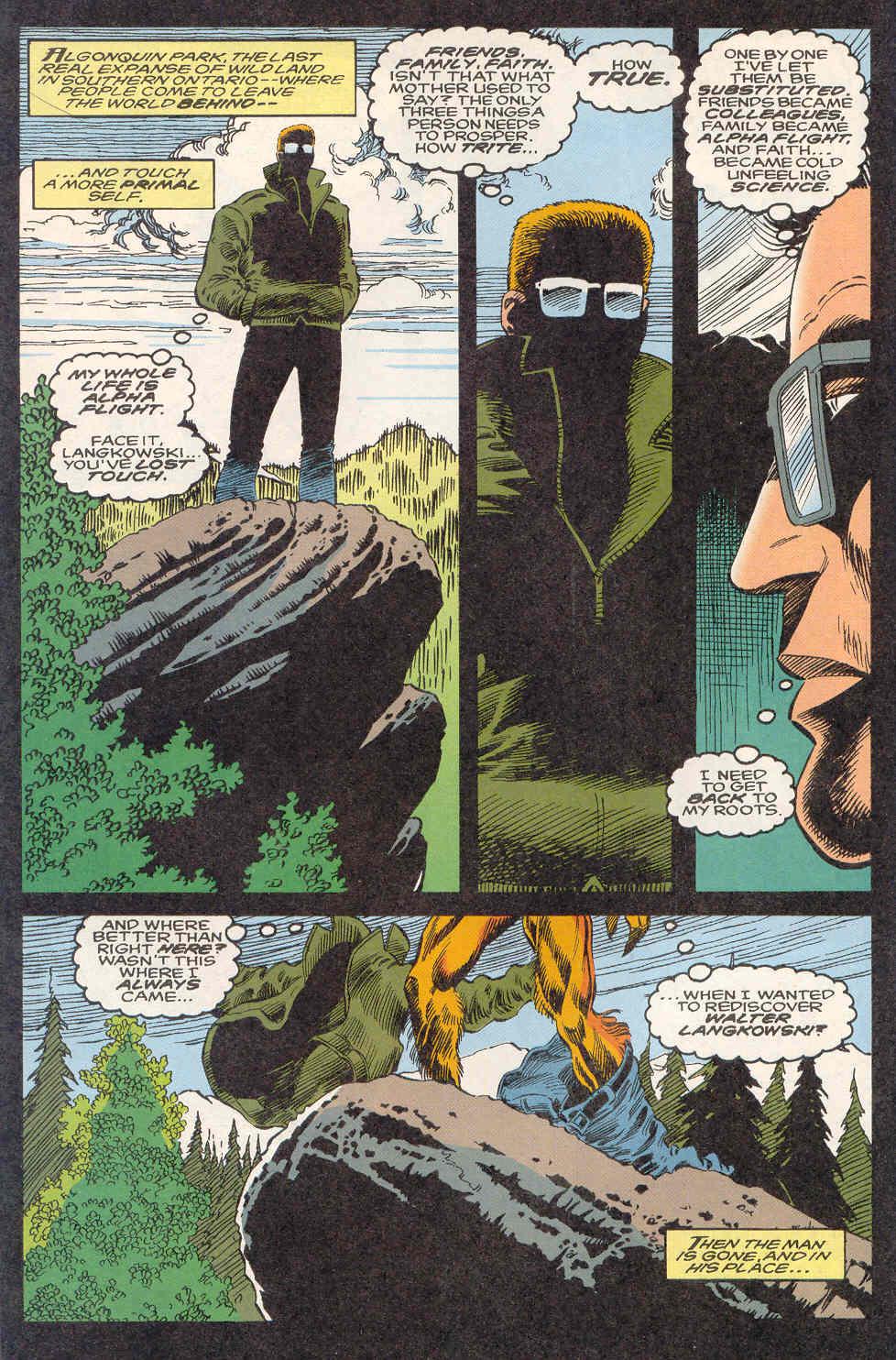 Read online Alpha Flight (1983) comic -  Issue #122 - 9