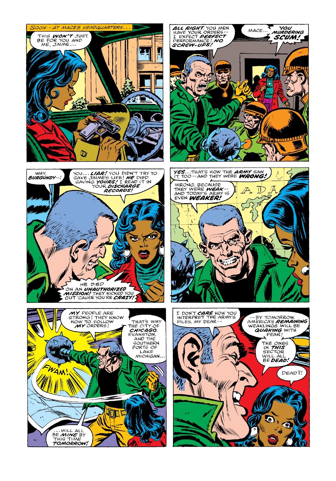 Read online Marvel Masterworks: Luke Cage, Power Man comic -  Issue # TPB 3 (Part 3) - 60