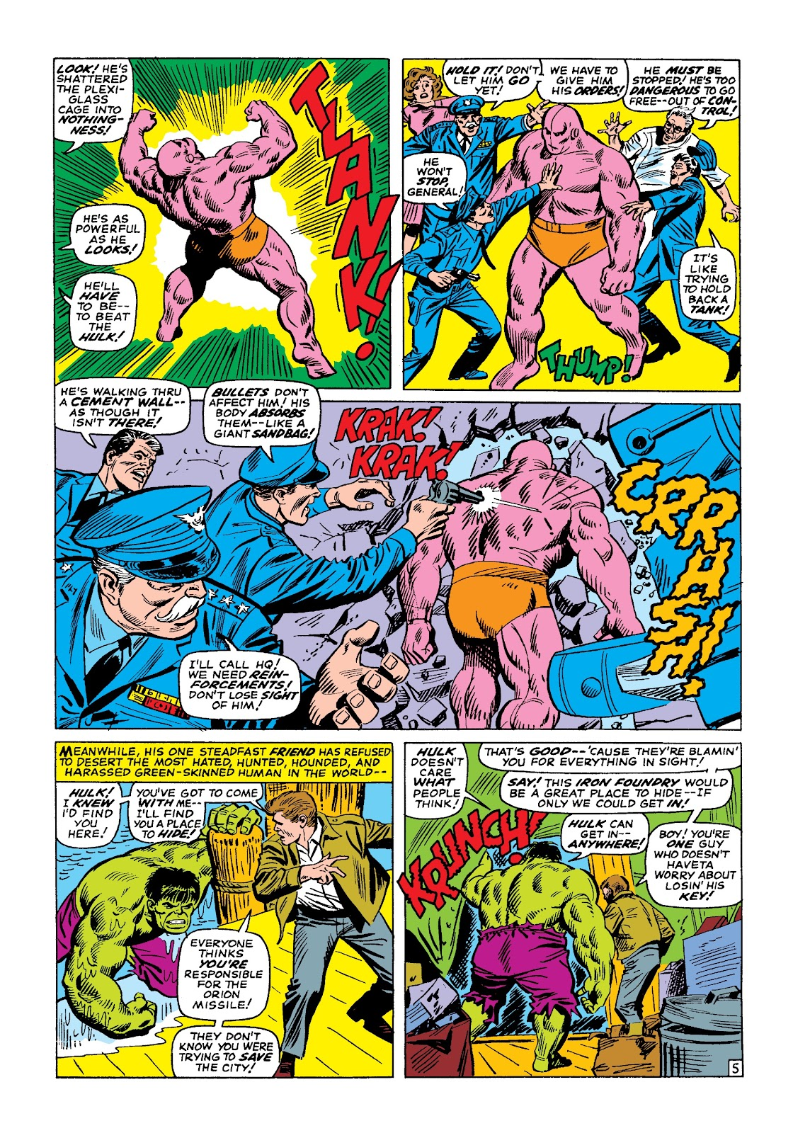 Read online Marvel Masterworks: The Incredible Hulk comic -  Issue # TPB 3 (Part 1) - 78