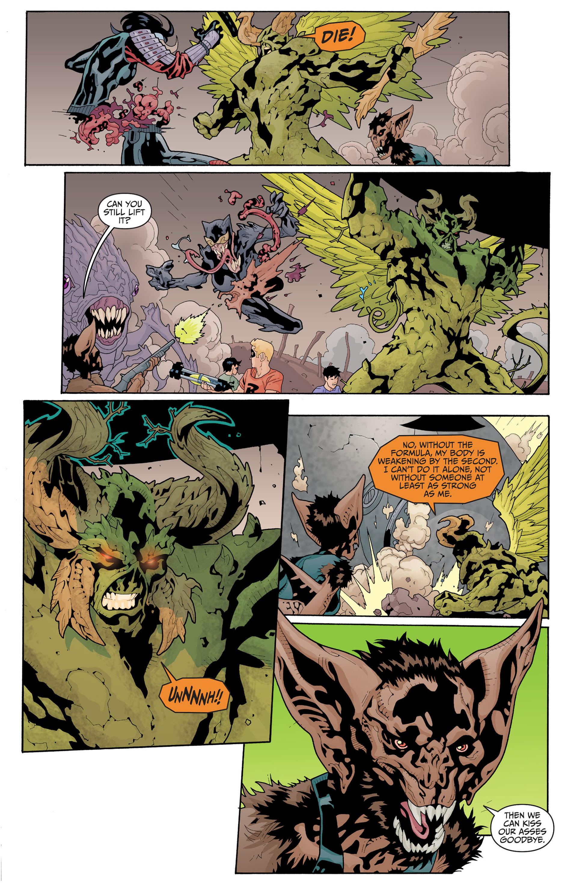 Read online Animal Man (2011) comic -  Issue #17 - 14