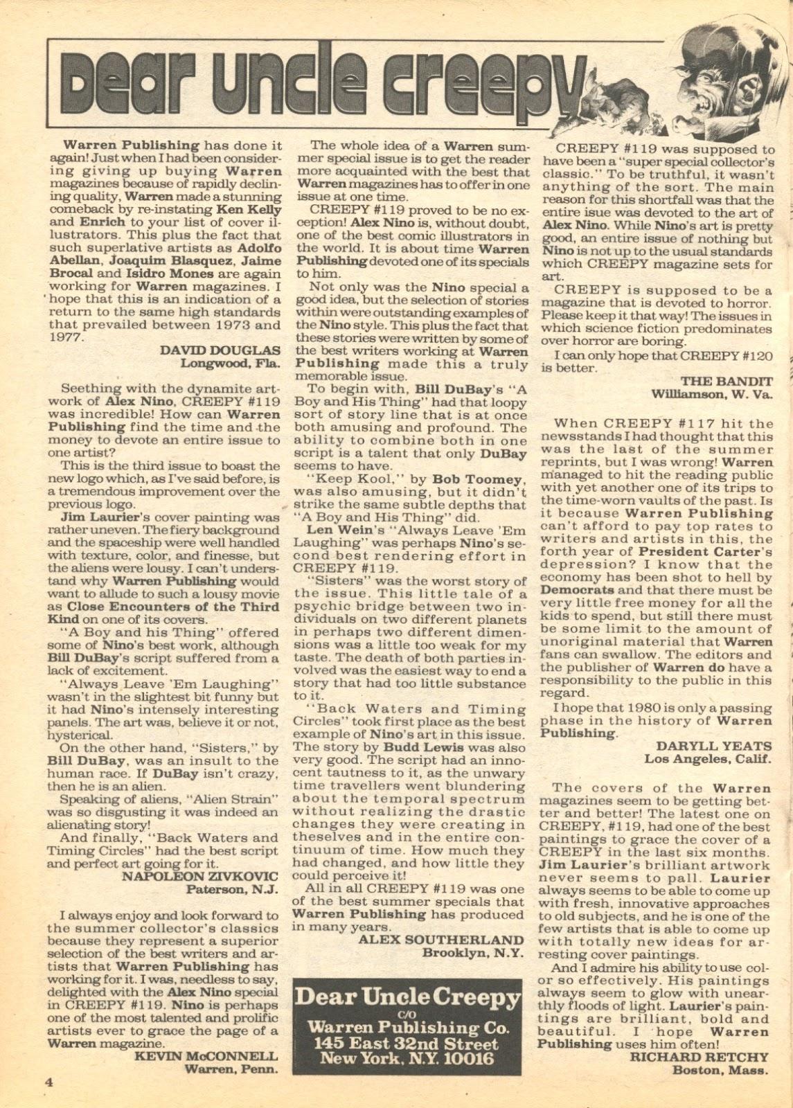 Creepy (1964) Issue #122 #122 - English 4