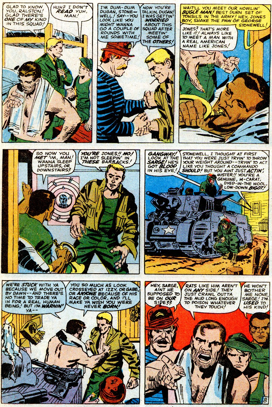 Read online Sgt. Fury comic -  Issue # _Special 5 - 10