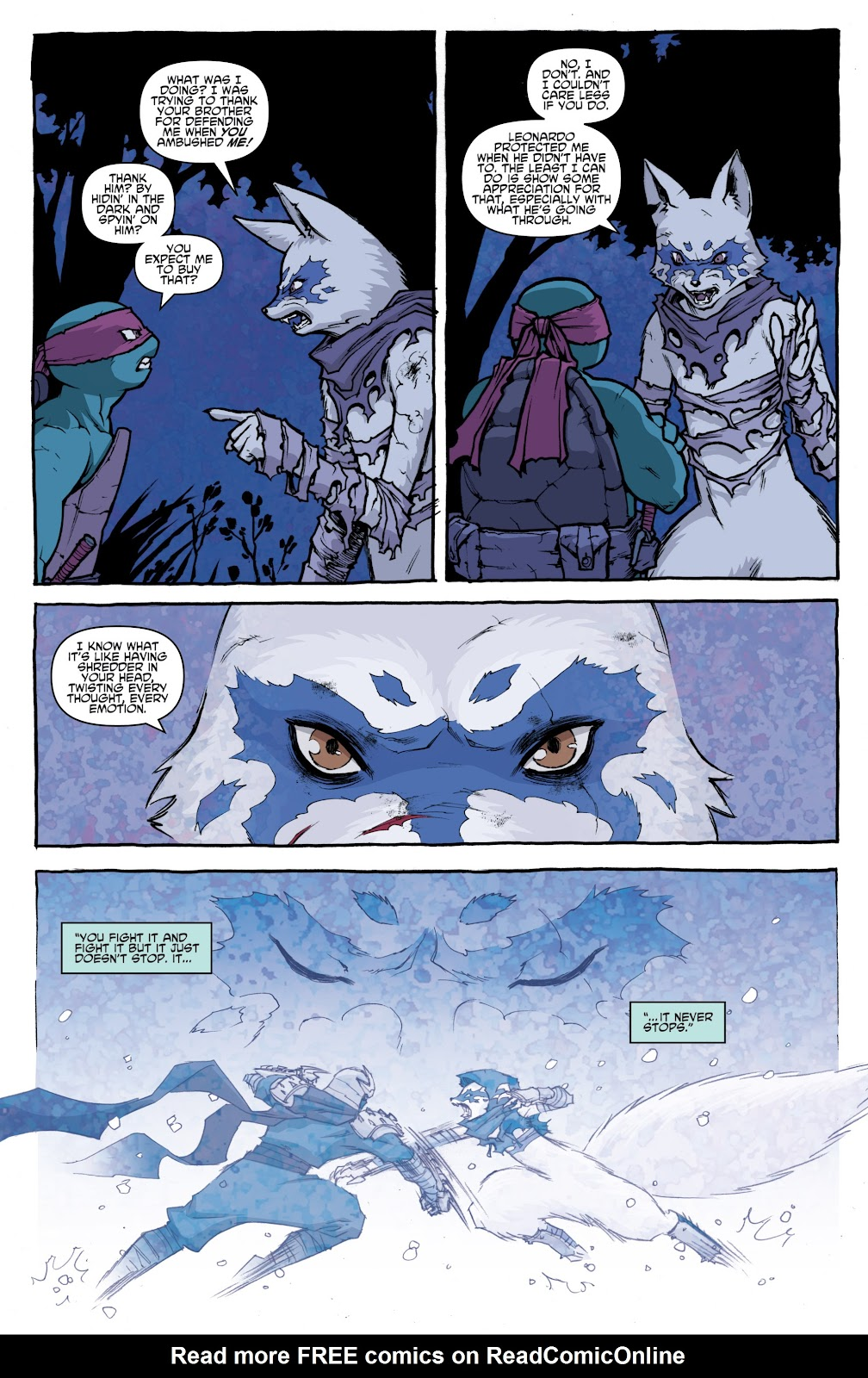 Read online Teenage Mutant Ninja Turtles: The IDW Collection comic -  Issue # TPB 4 (Part 1) - 57