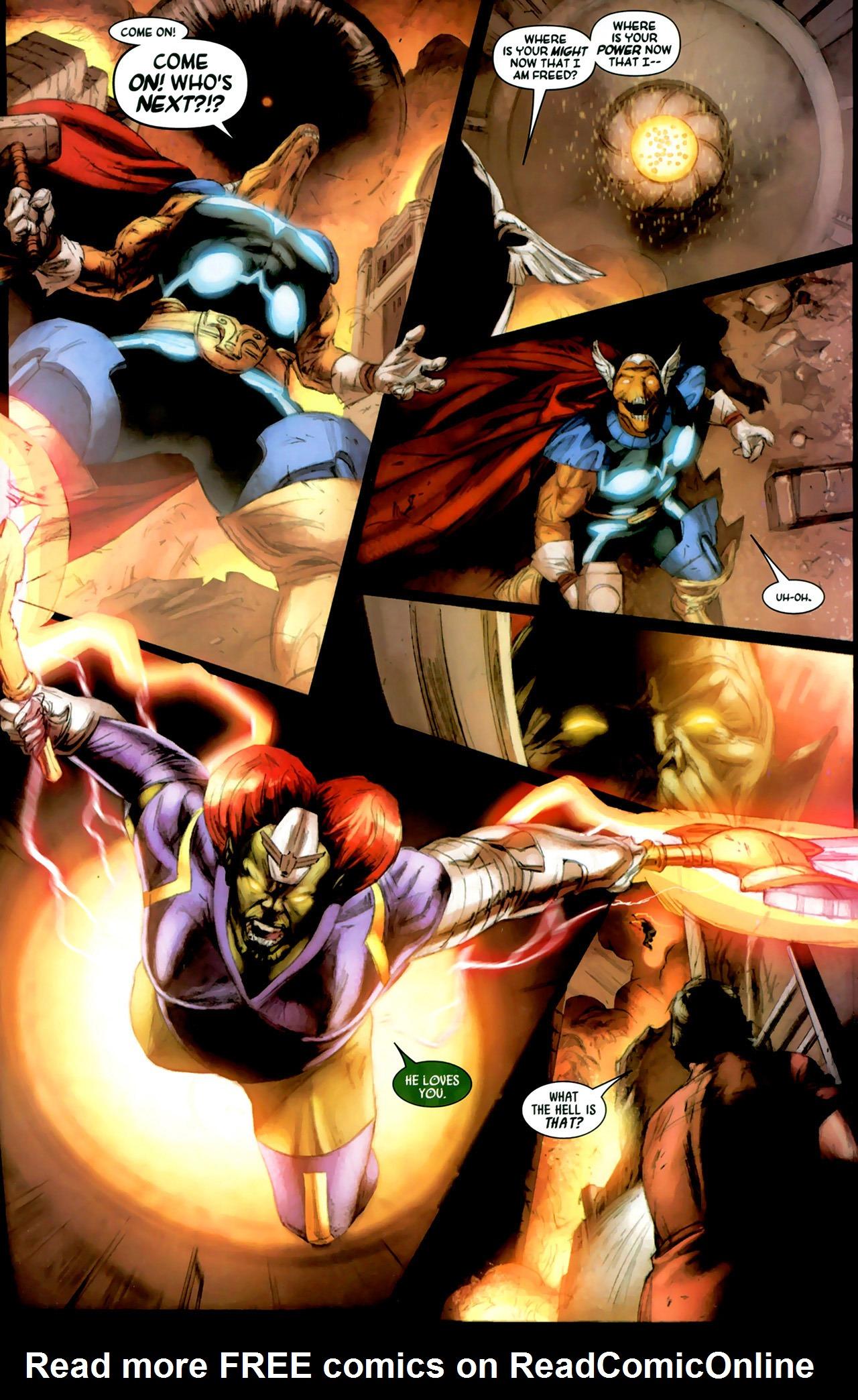 Read online Secret Invasion: Thor comic -  Issue #2 - 11