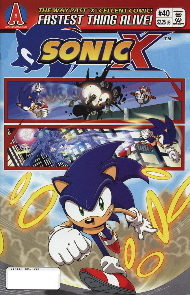 Read online Sonic X comic -  Issue #40 - 1