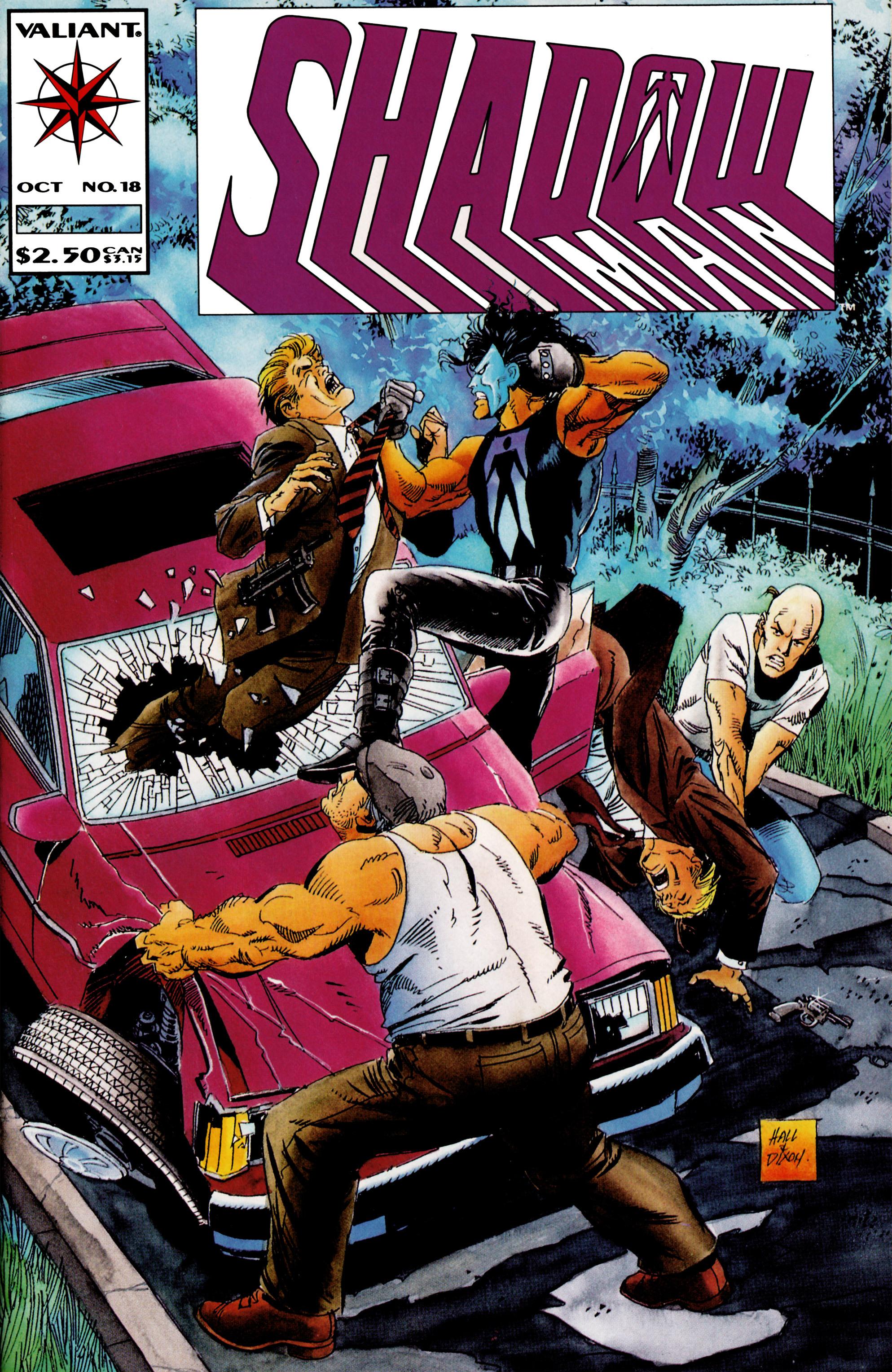 Read online Shadowman (1992) comic -  Issue #18 - 1