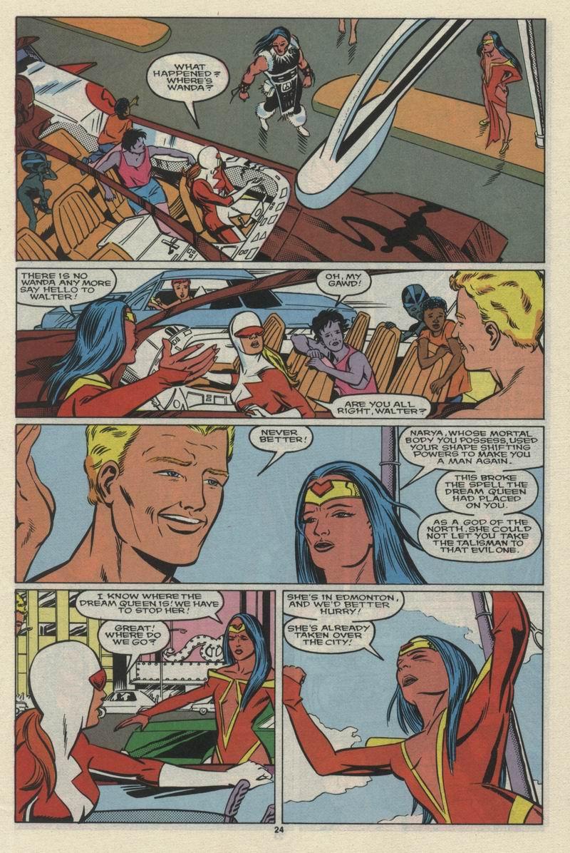 Read online Alpha Flight (1983) comic -  Issue #68 - 26
