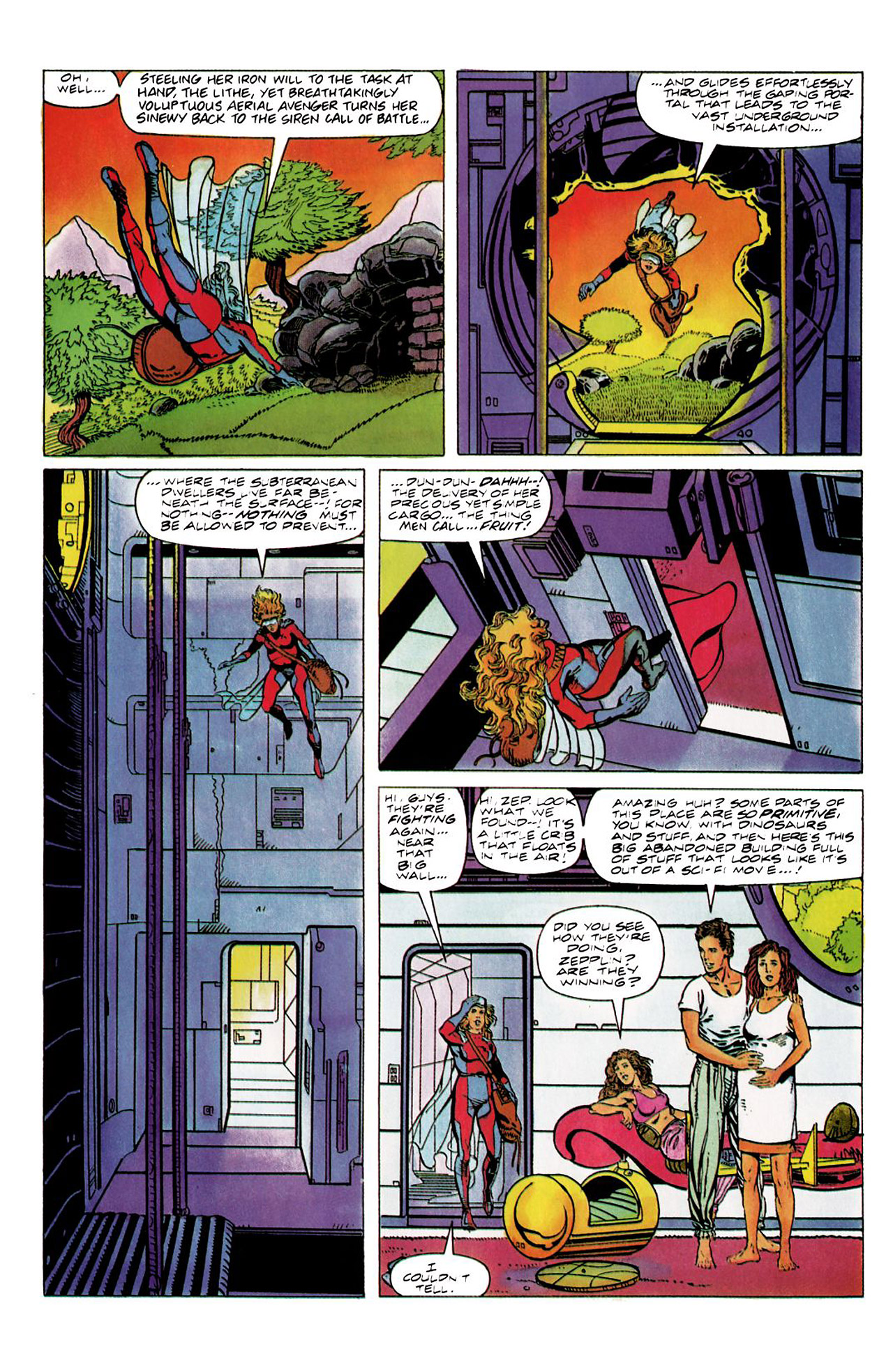 Read online Harbinger (1992) comic -  Issue #8 - 15