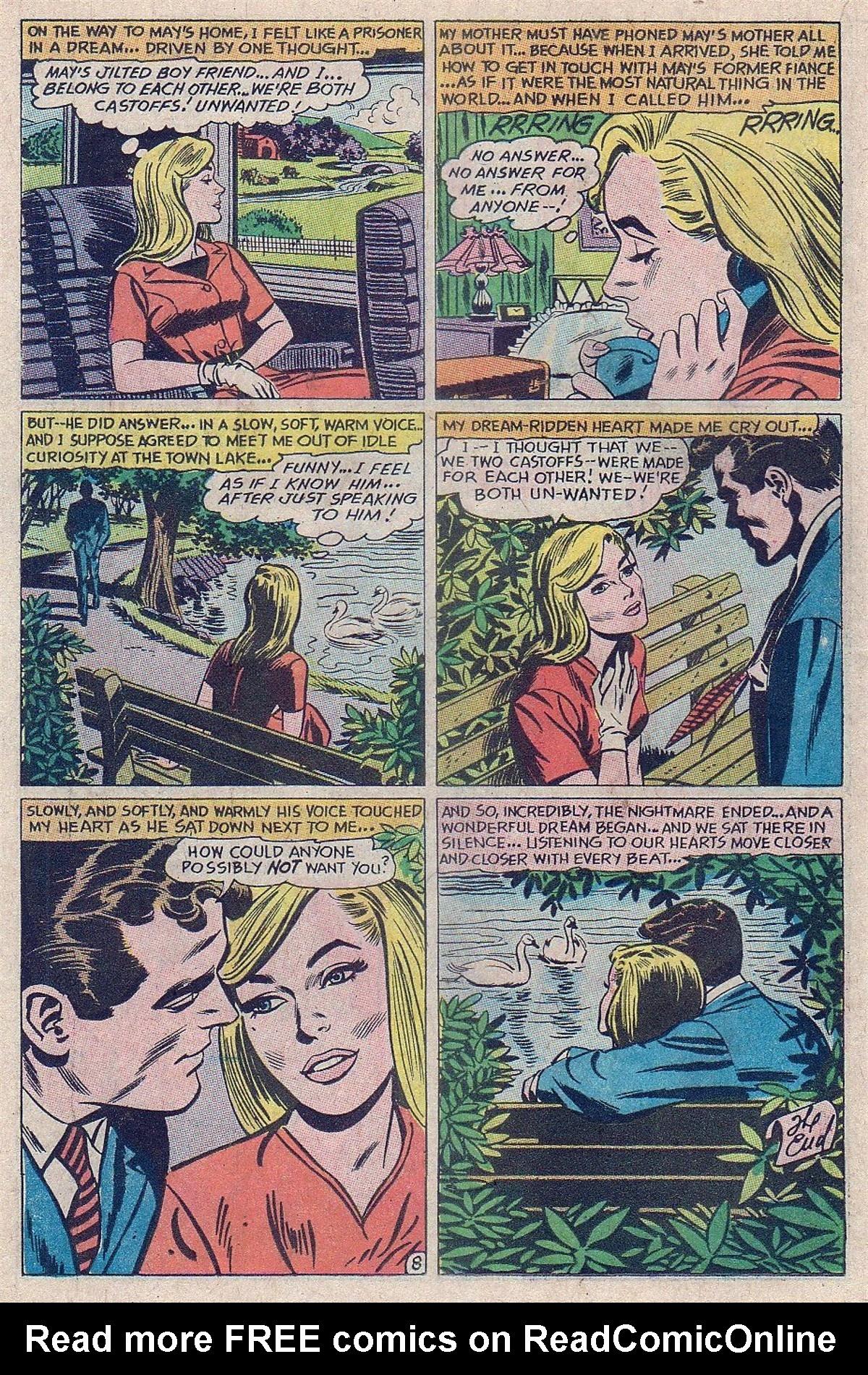 Read online Secret Hearts comic -  Issue #129 - 18