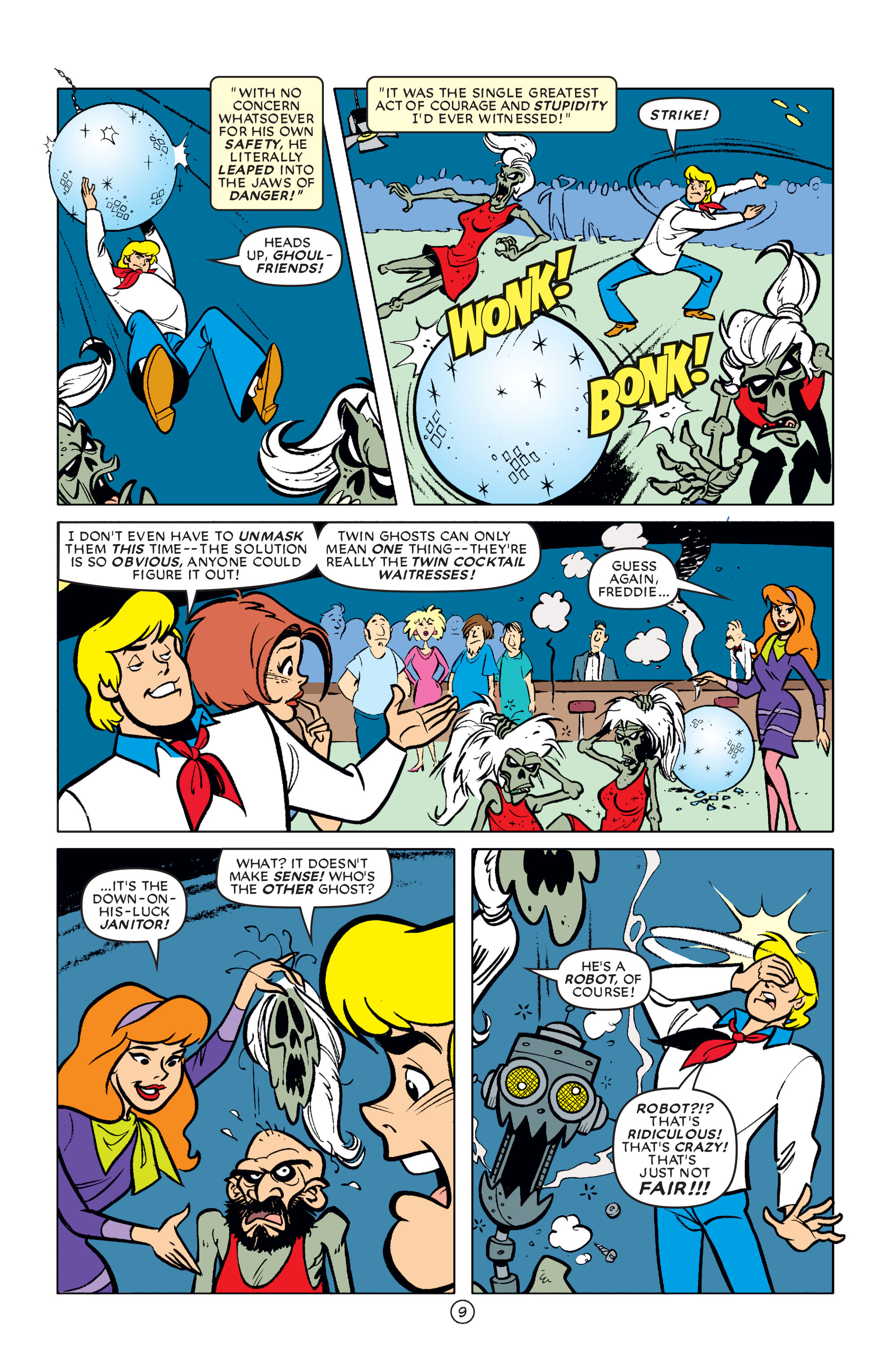 Read online Scooby-Doo (1997) comic -  Issue #61 - 10