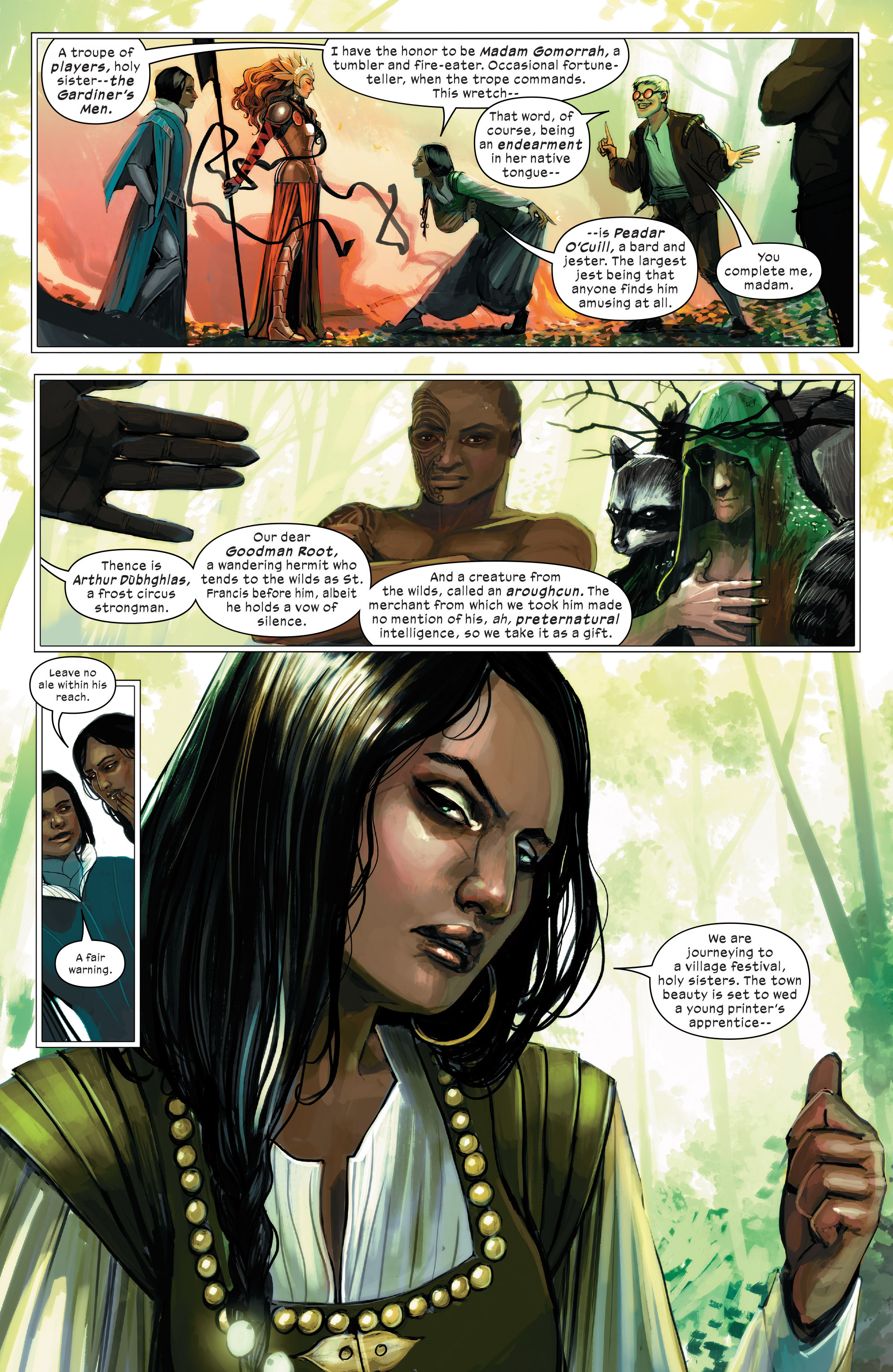 Read online 1602 Witch Hunter Angela comic -  Issue #2 - 7