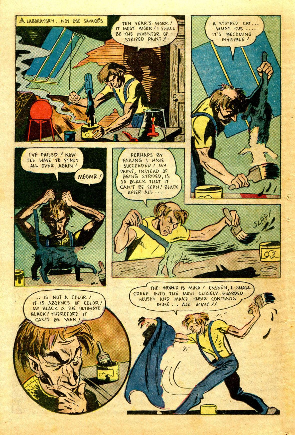 Read online Shadow Comics comic -  Issue #43 - 44