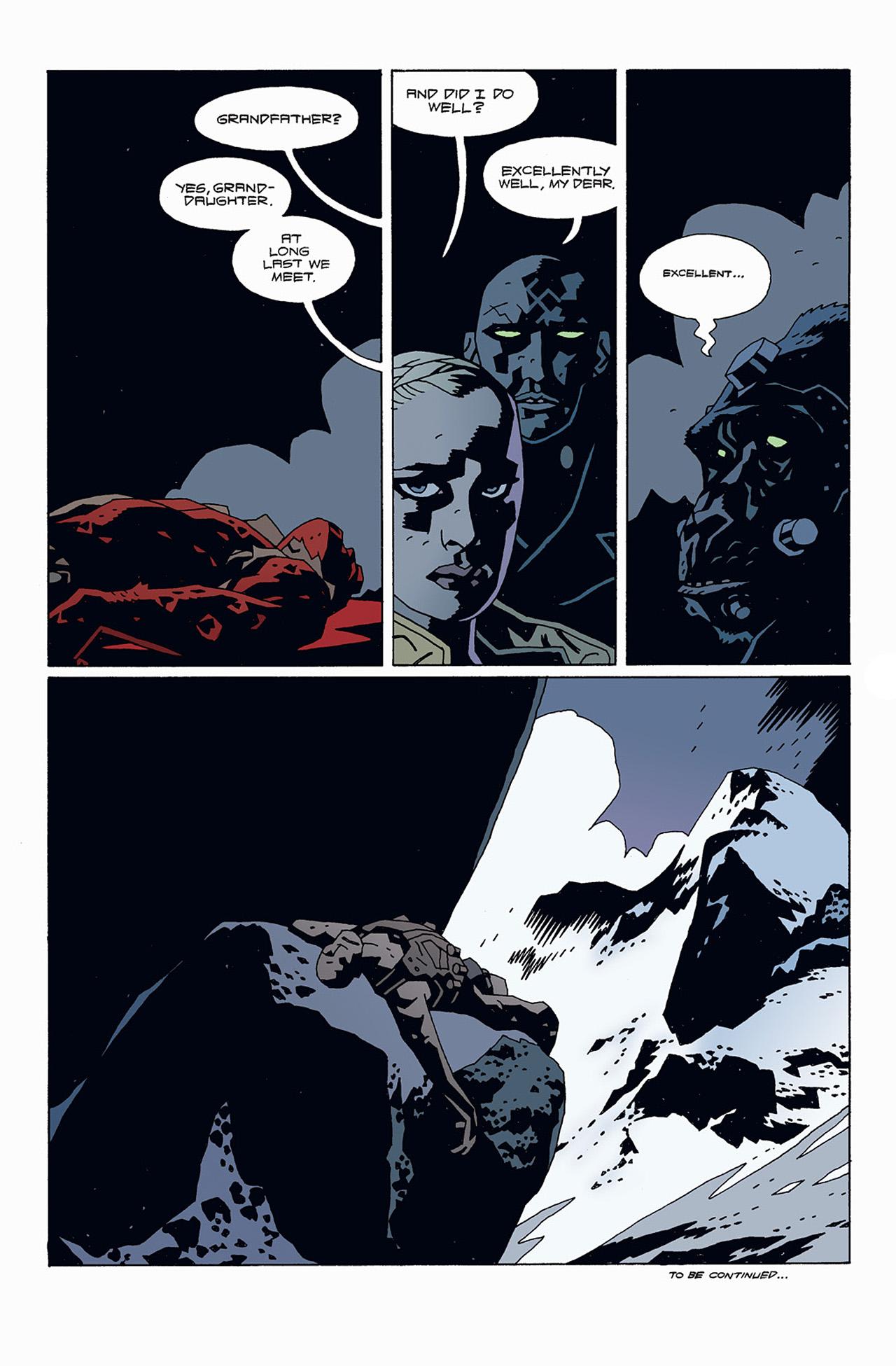 Read online Hellboy: Conqueror Worm comic -  Issue #1 - 31