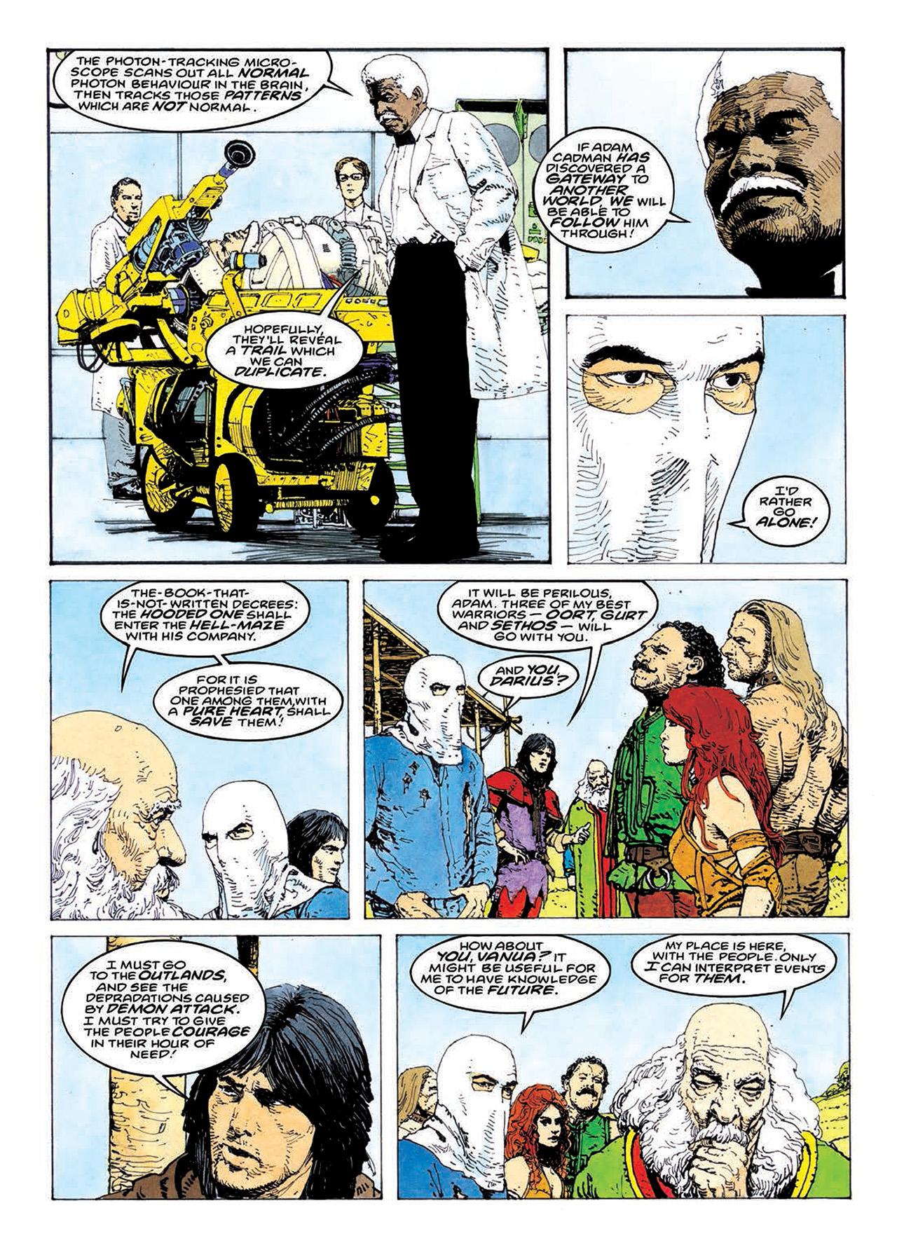 Read online Mazeworld comic -  Issue # TPB - 139