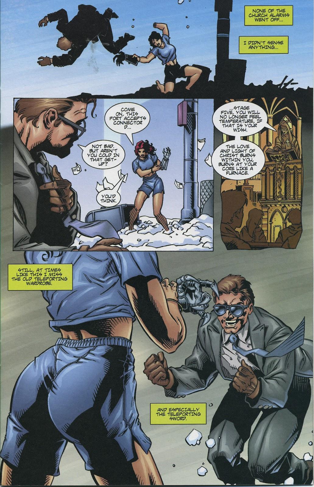 Warrior Nun Areala (1997) Issue #4 #4 - English 7