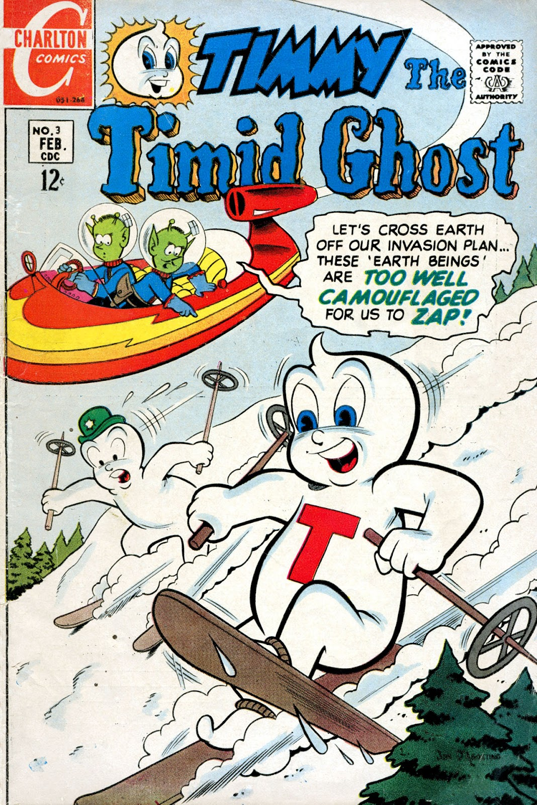 Timmy the Timid Ghost issue 3 - Page 1