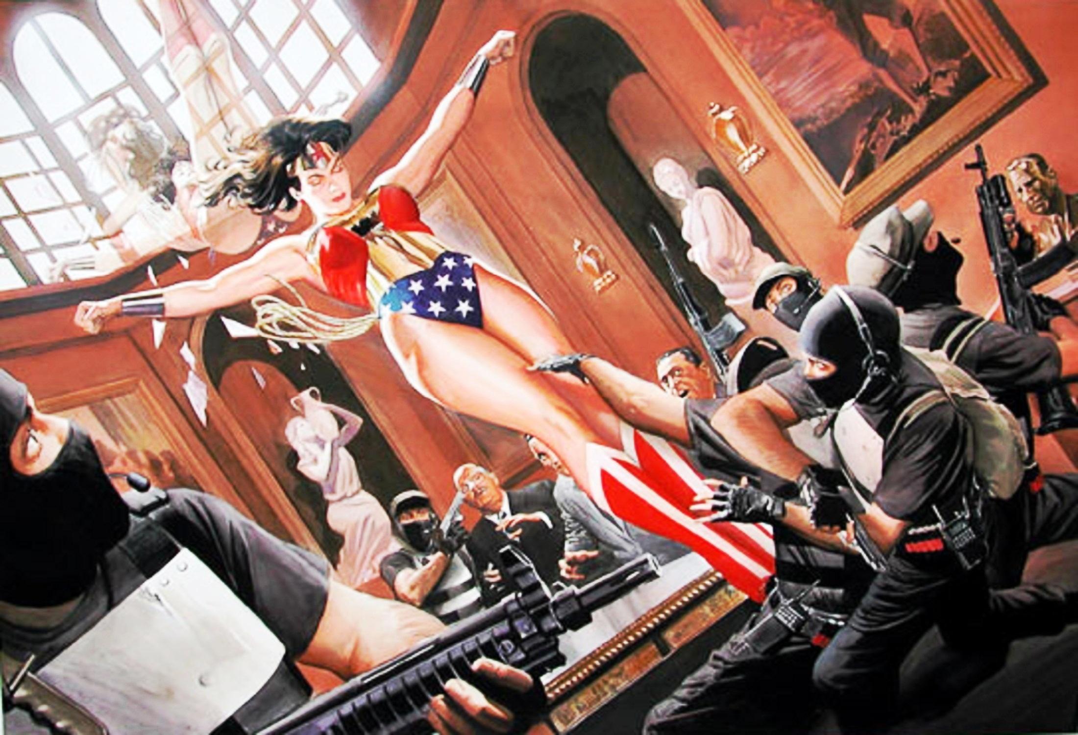 Read online Wonder Woman: Spirit of Truth comic -  Issue # Full - 10