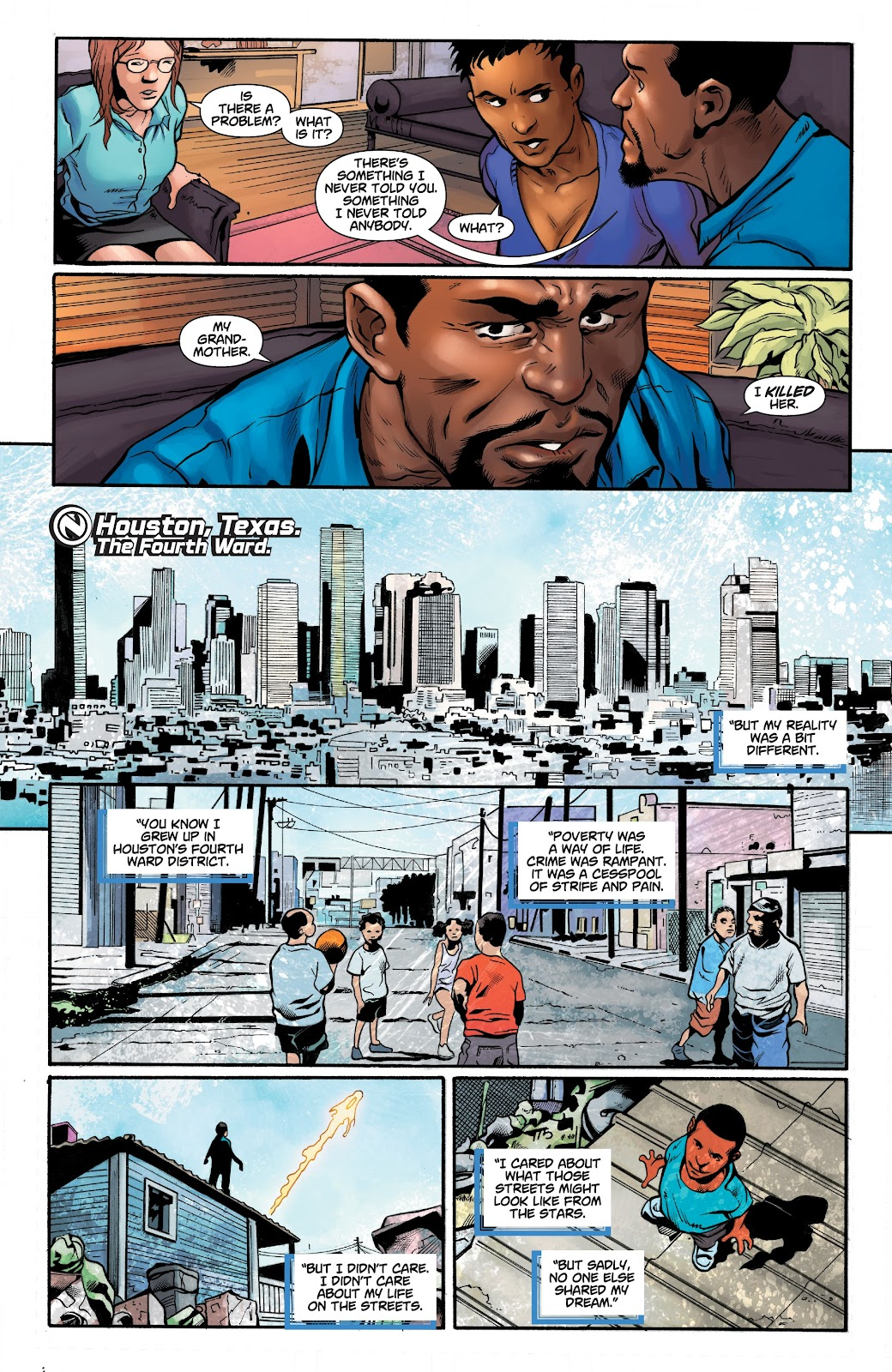 Read online Noble comic -  Issue #15 - 6