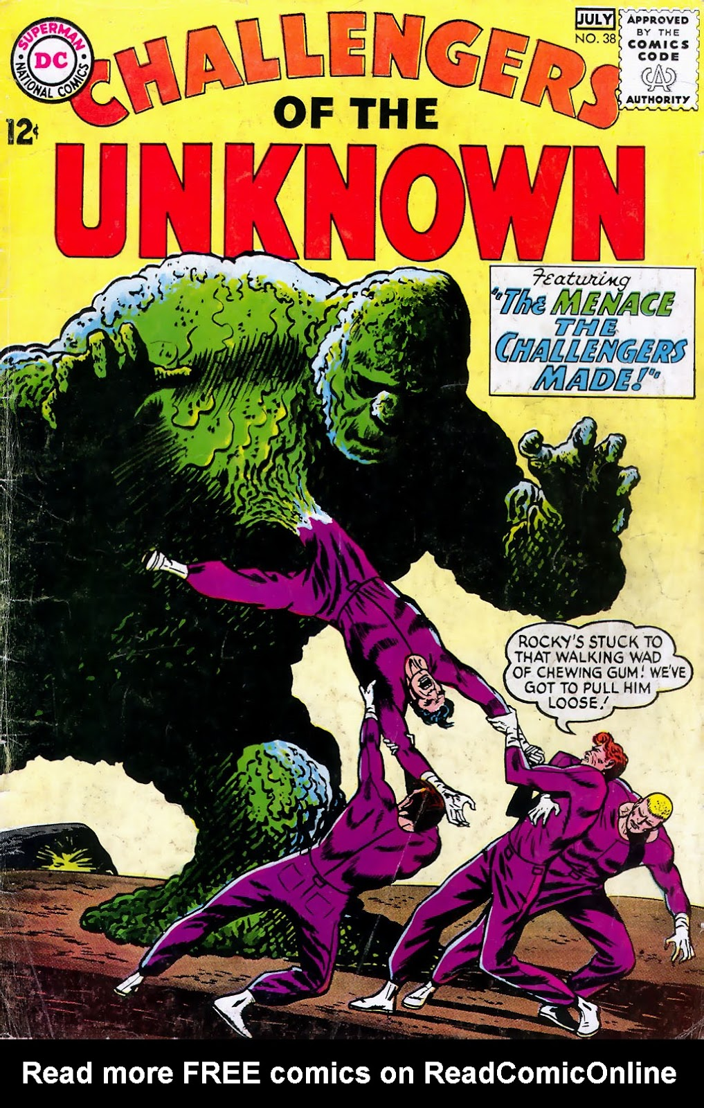 Challengers of the Unknown (1958) issue 38 - Page 1