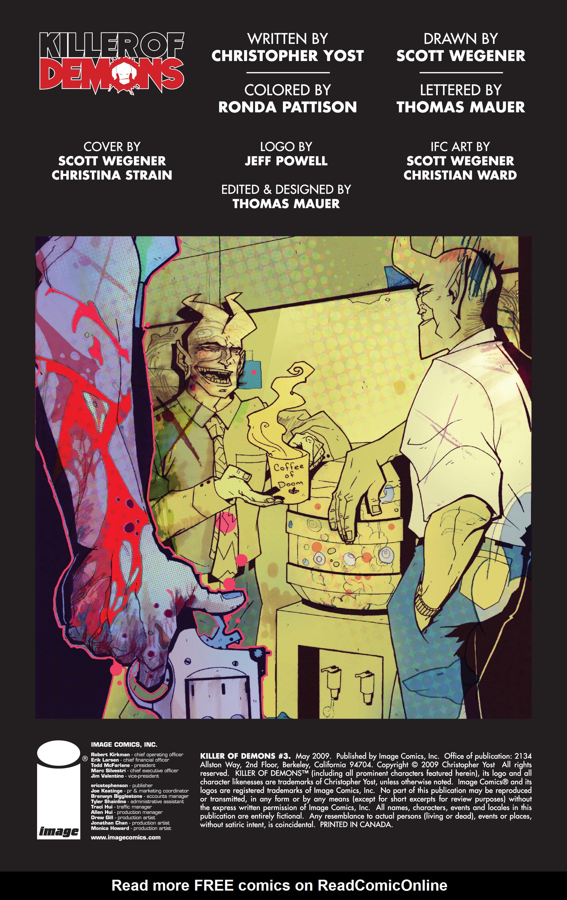 Read online Killer Of Demons comic -  Issue #3 - 2