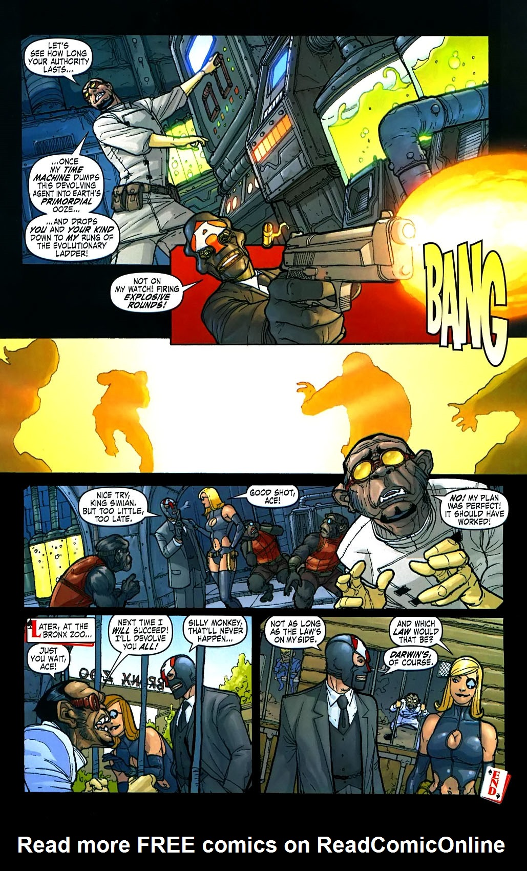 Read online Amazing Fantasy (2004) comic -  Issue #15 - 32