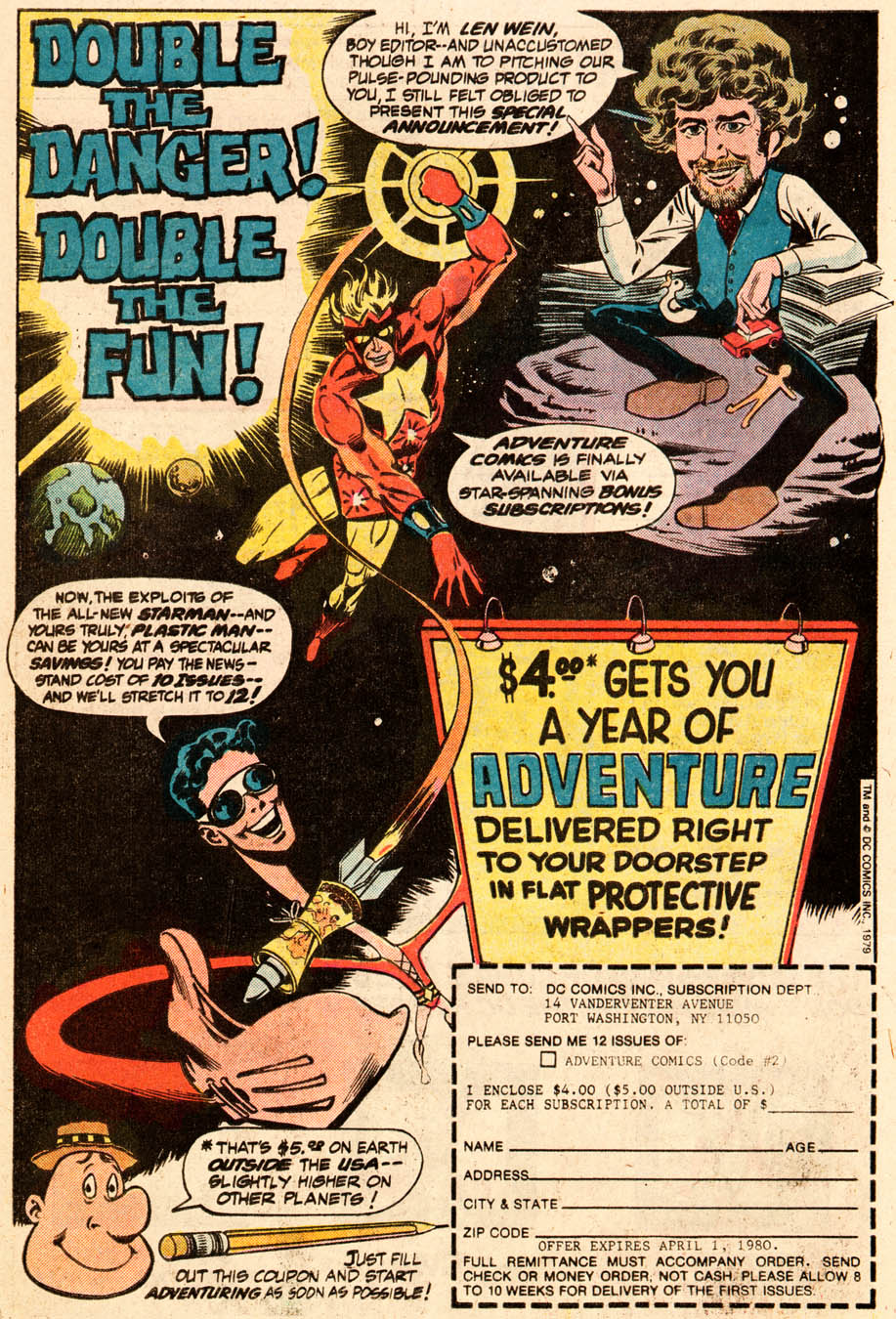 Read online Adventure Comics (1938) comic -  Issue #471 - 21