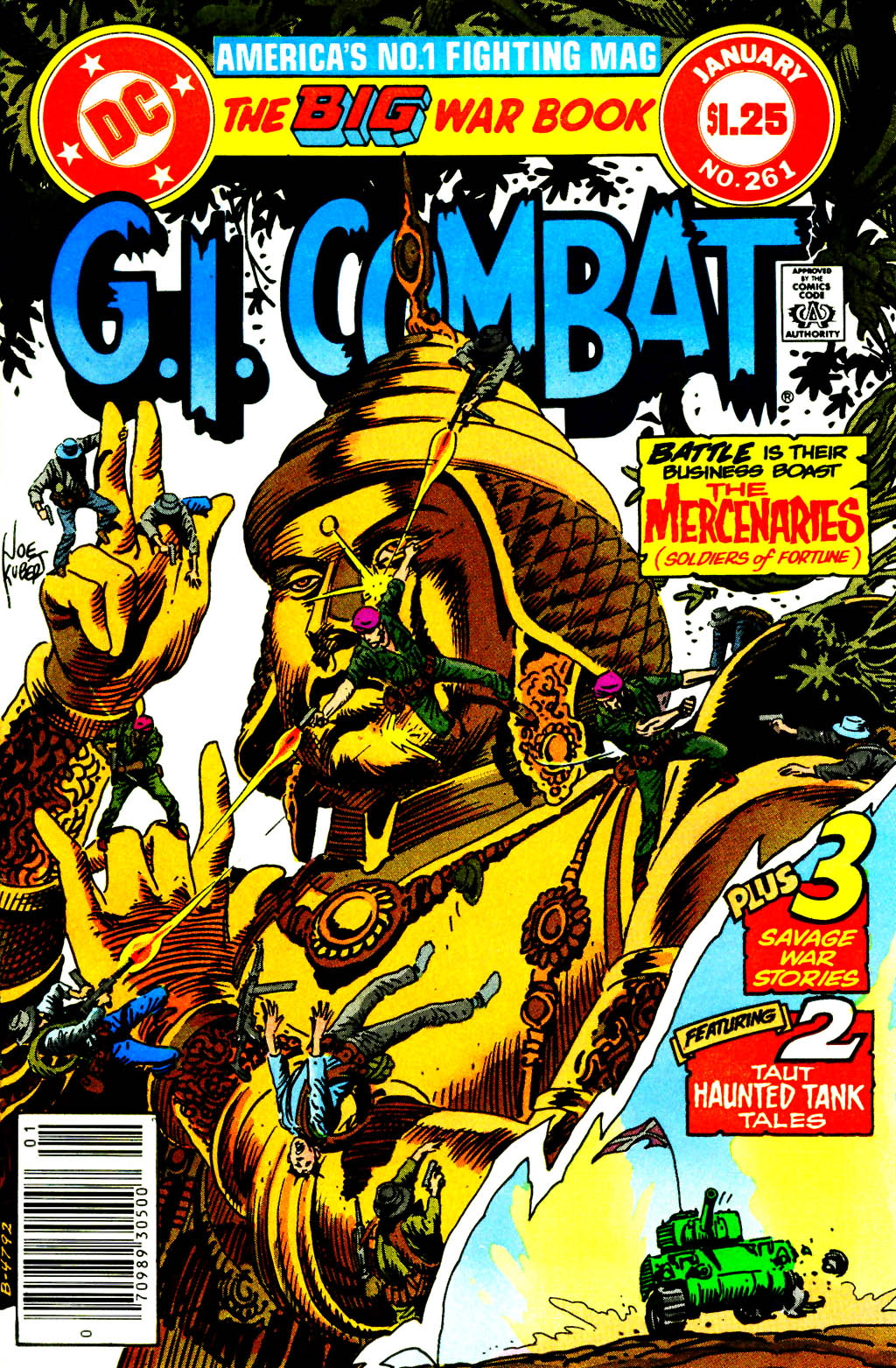 G.I. Combat (1952) issue 261 - Page 1