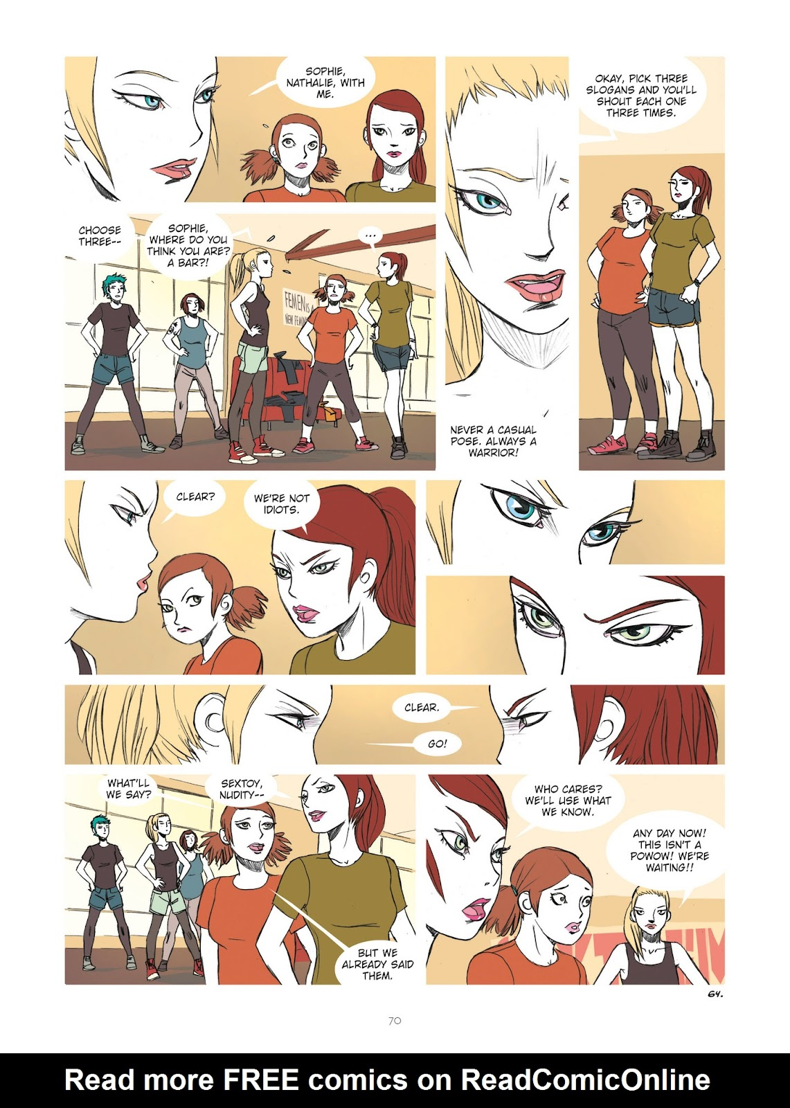 Read online Diary of A Femen comic -  Issue # TPB - 72