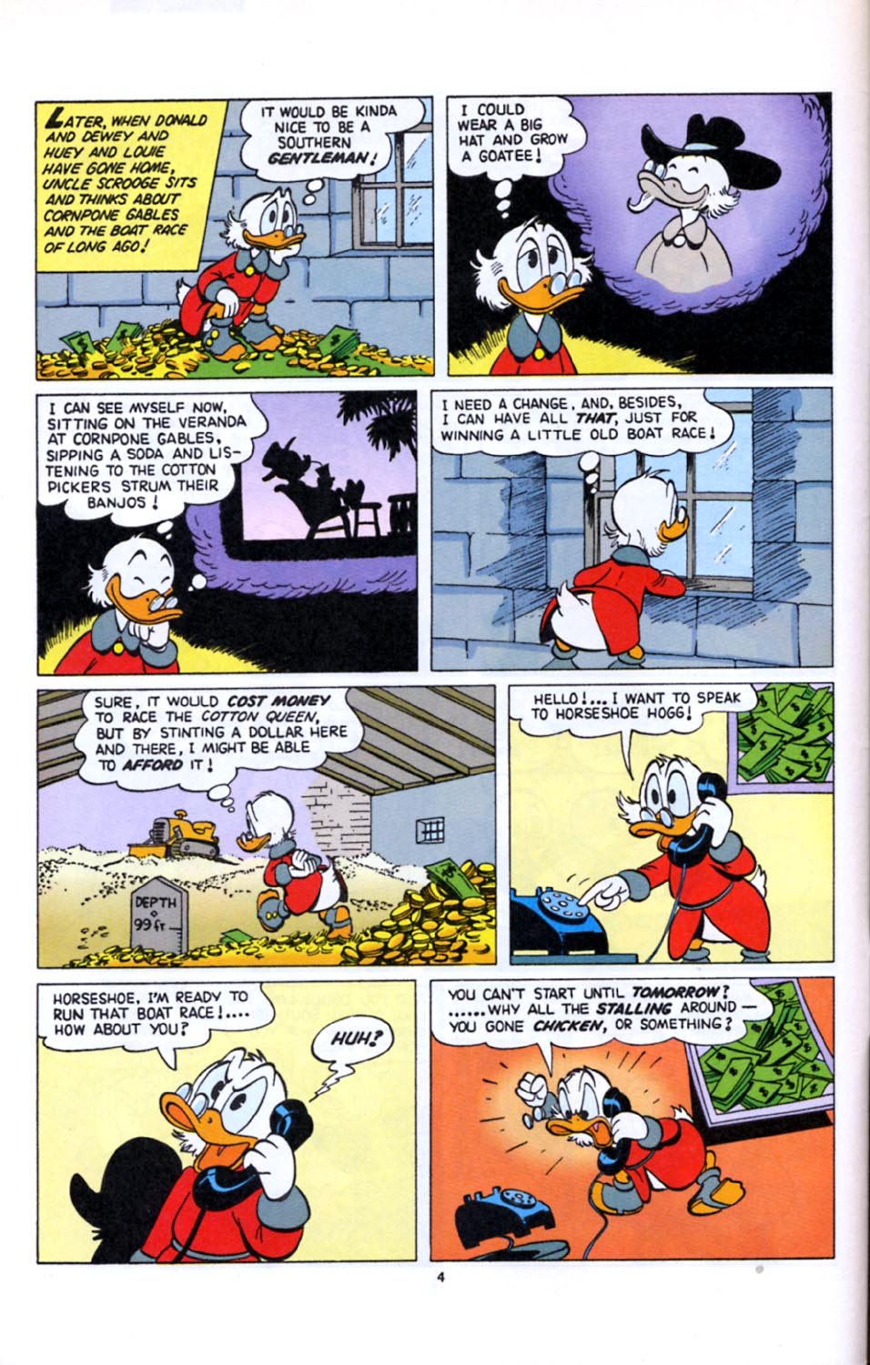 Read online Uncle Scrooge (1953) comic -  Issue #277 - 5