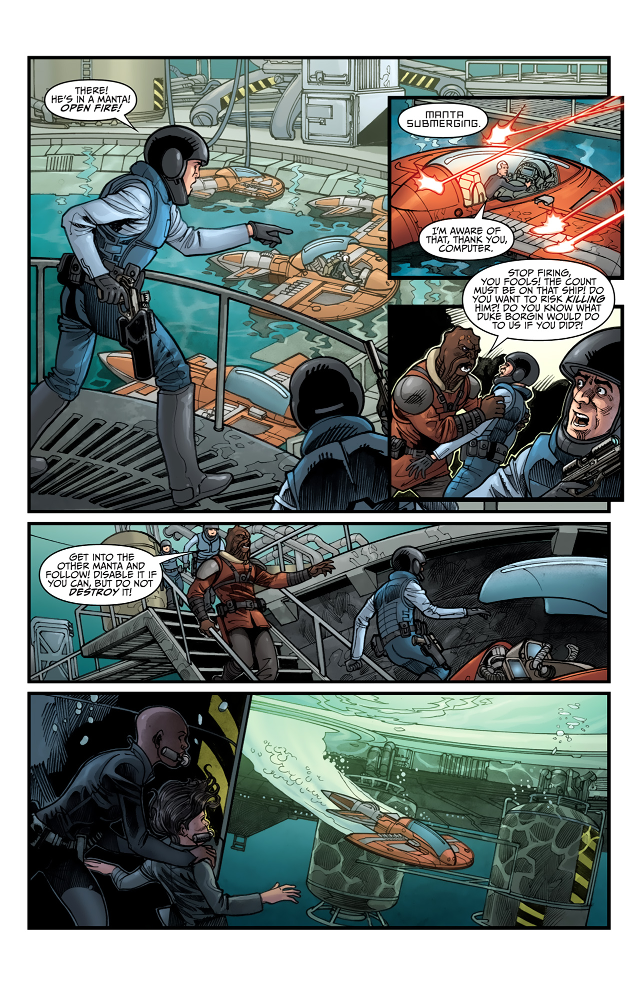 Read online Star Wars: Agent Of The Empire - Hard Targets comic -  Issue #4 - 14