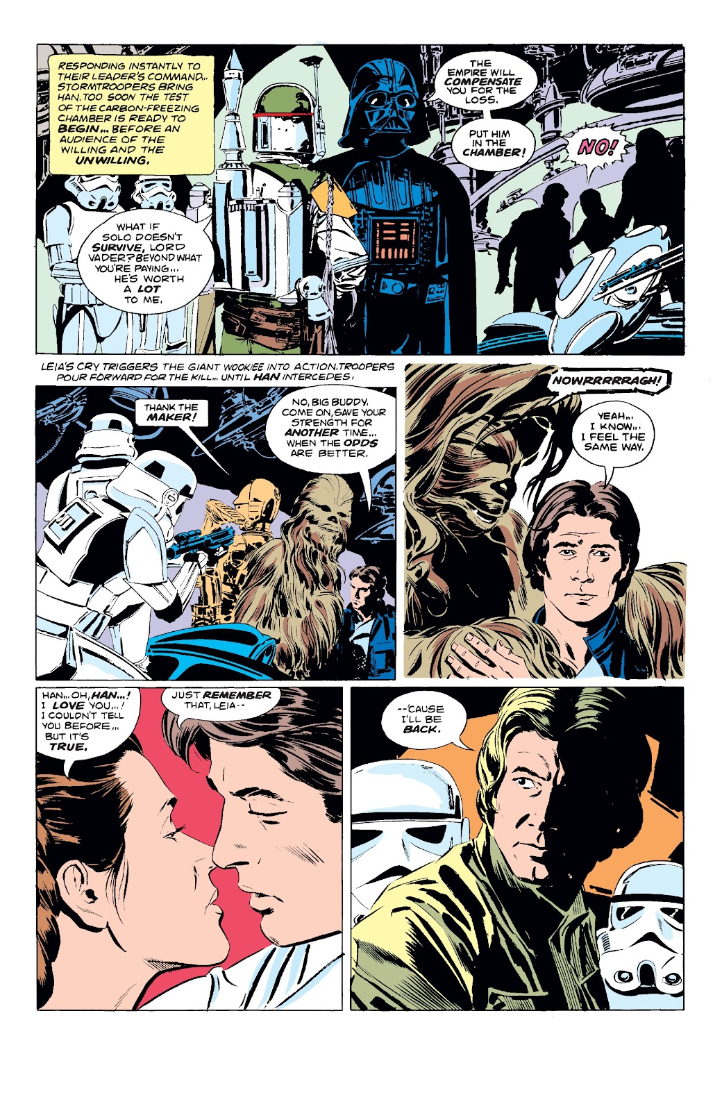 Read online Star Wars Legends: The Original Marvel Years - Epic Collection comic -  Issue # TPB 3 (Part 1) - 94