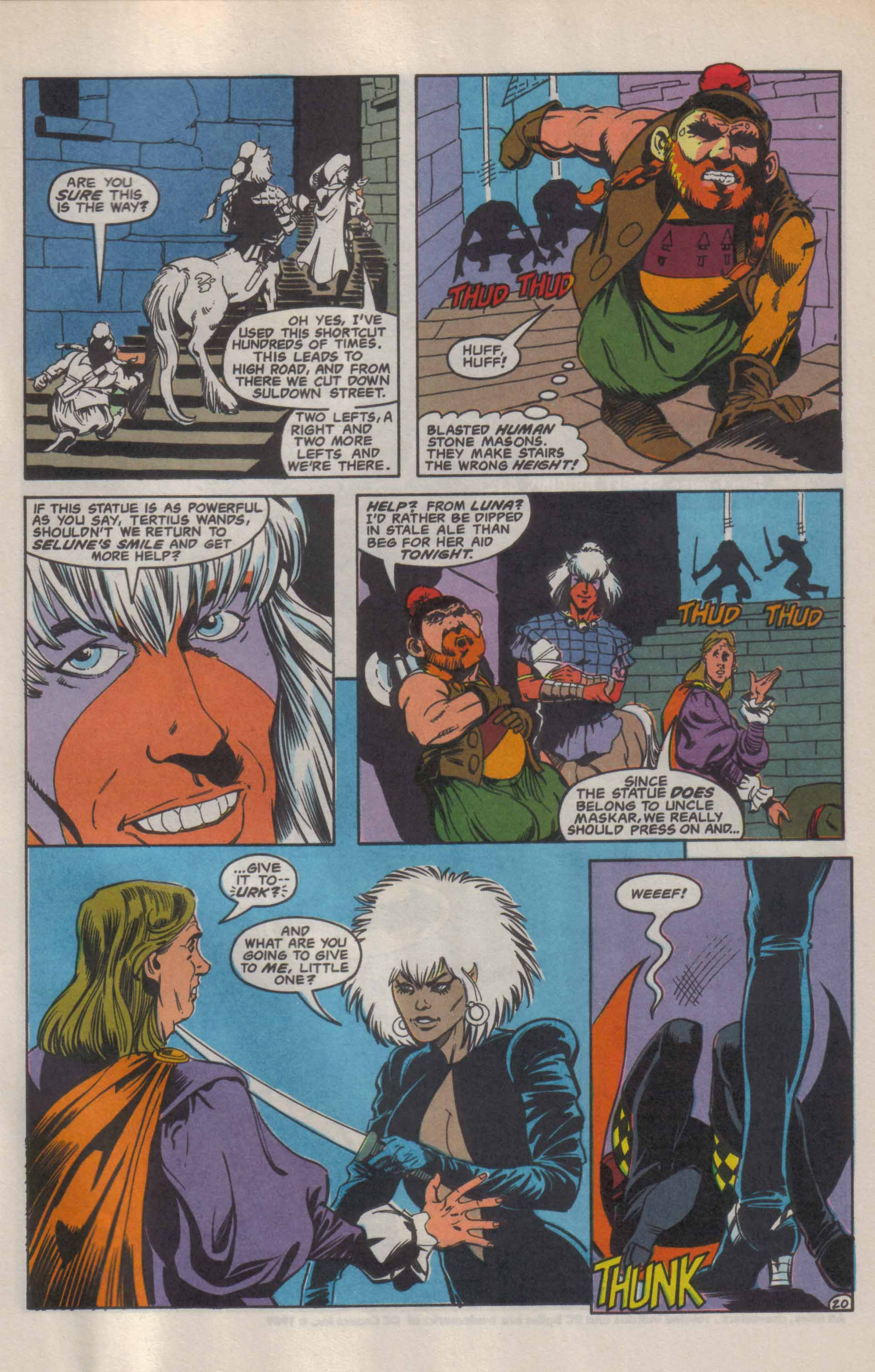 Read online Advanced Dungeons & Dragons comic -  Issue #9 - 21