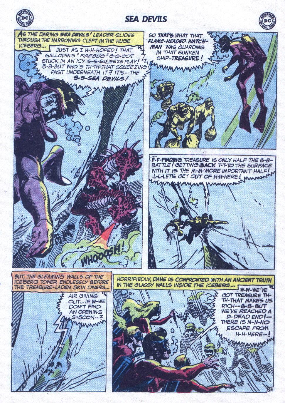 Read online Sea Devils comic -  Issue #6 - 33
