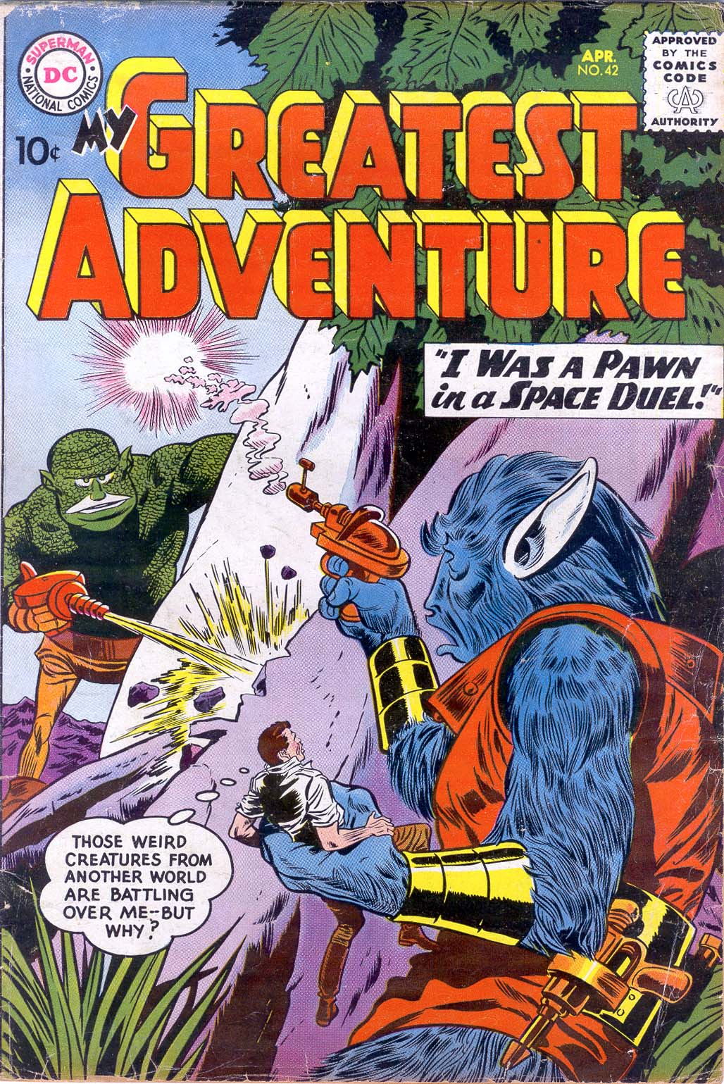 My Greatest Adventure (1955) 42 Page 1